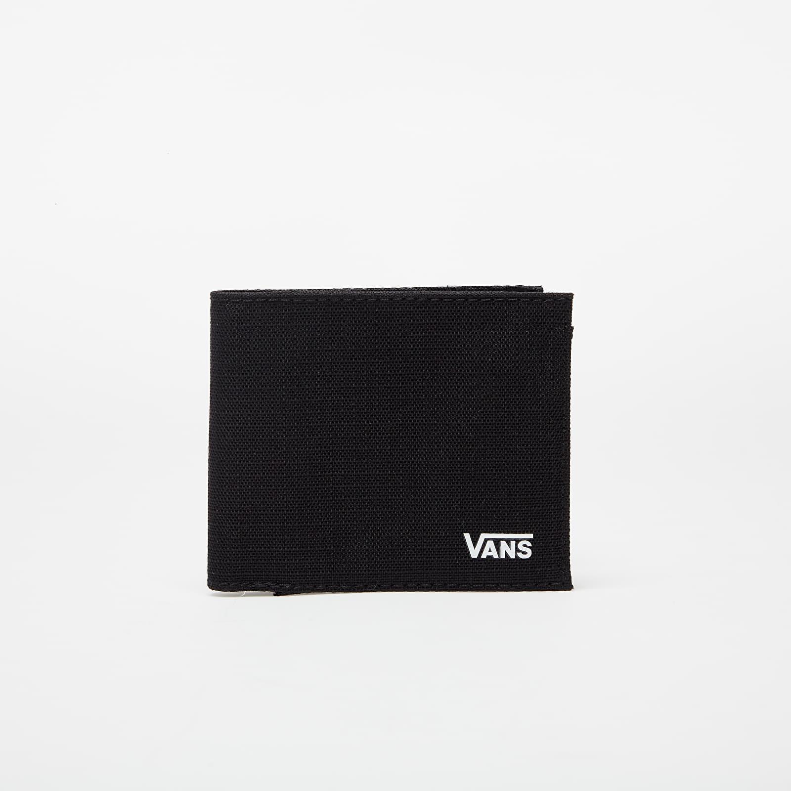 Vans Ultra Thin Wallet Black/White | Footshop