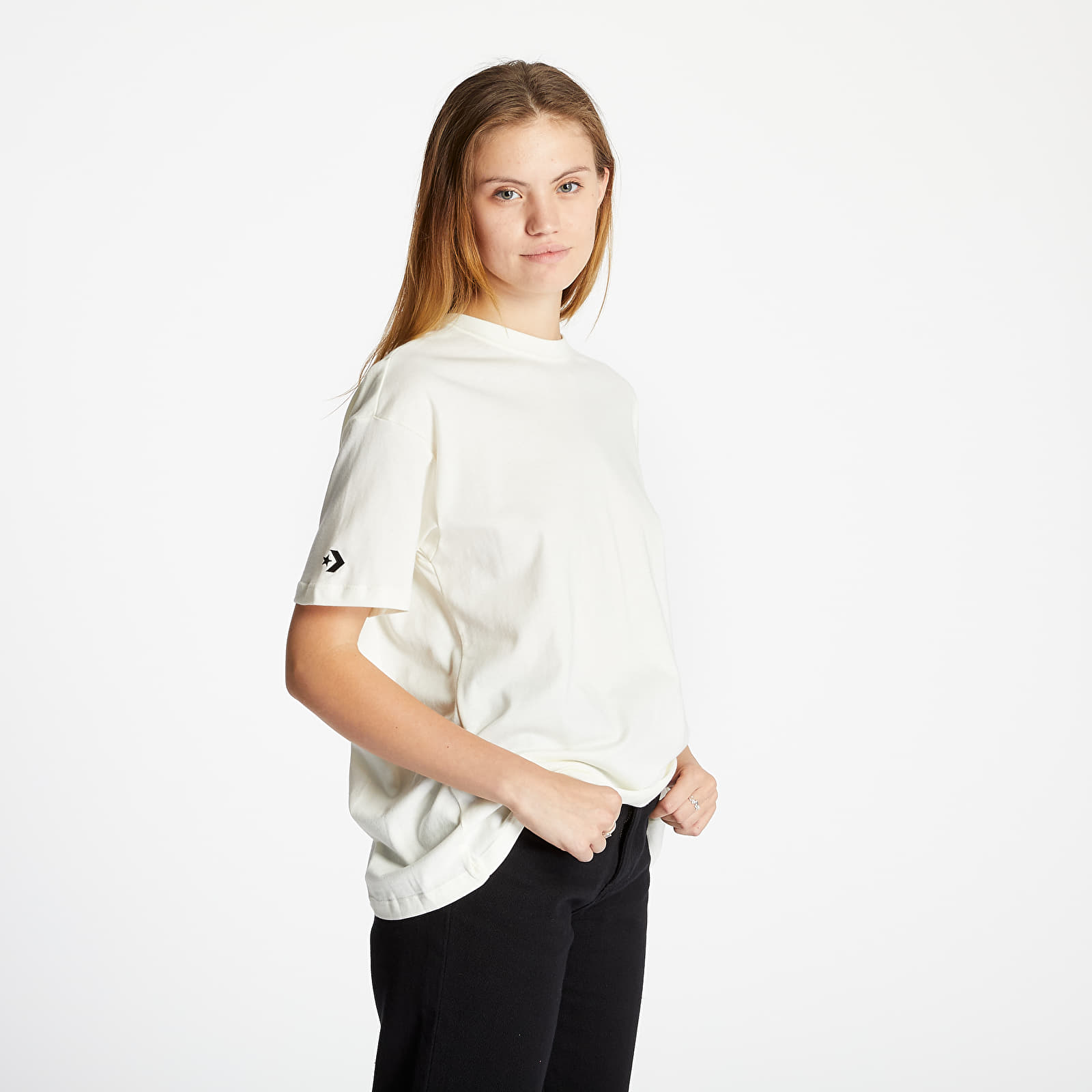 T-shirts Converse Shapes Box Tee Off White