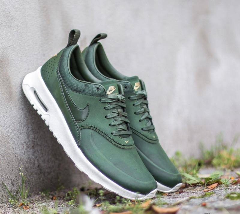 official photos 44443 eea0a Nike WMNS Air Max Thea Premium Carbon Green Carbon Green-SL-Metallic Gold
