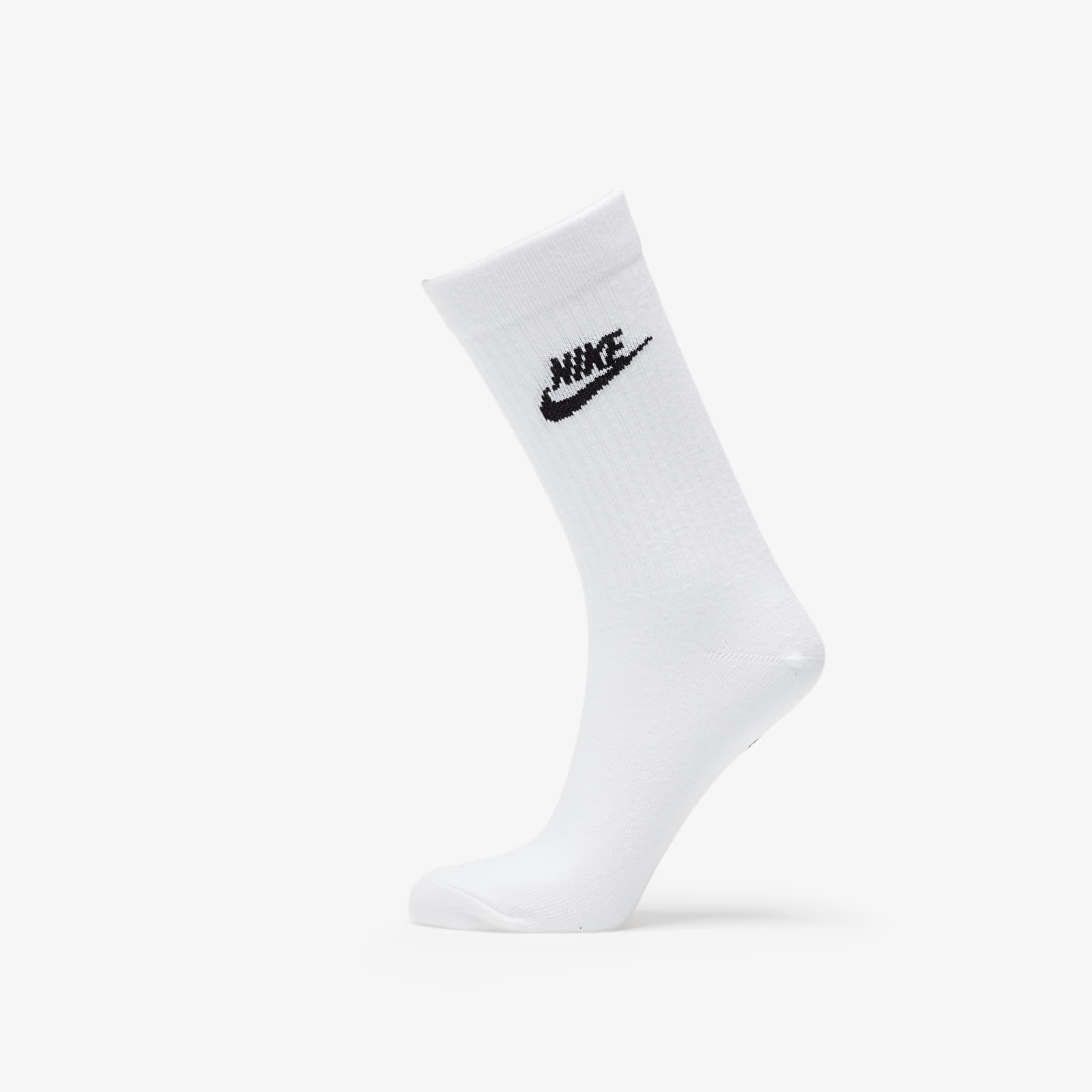 Ponožky Nike Sportswear Everyday Essential Crew Socks (3-pack) White/ Black