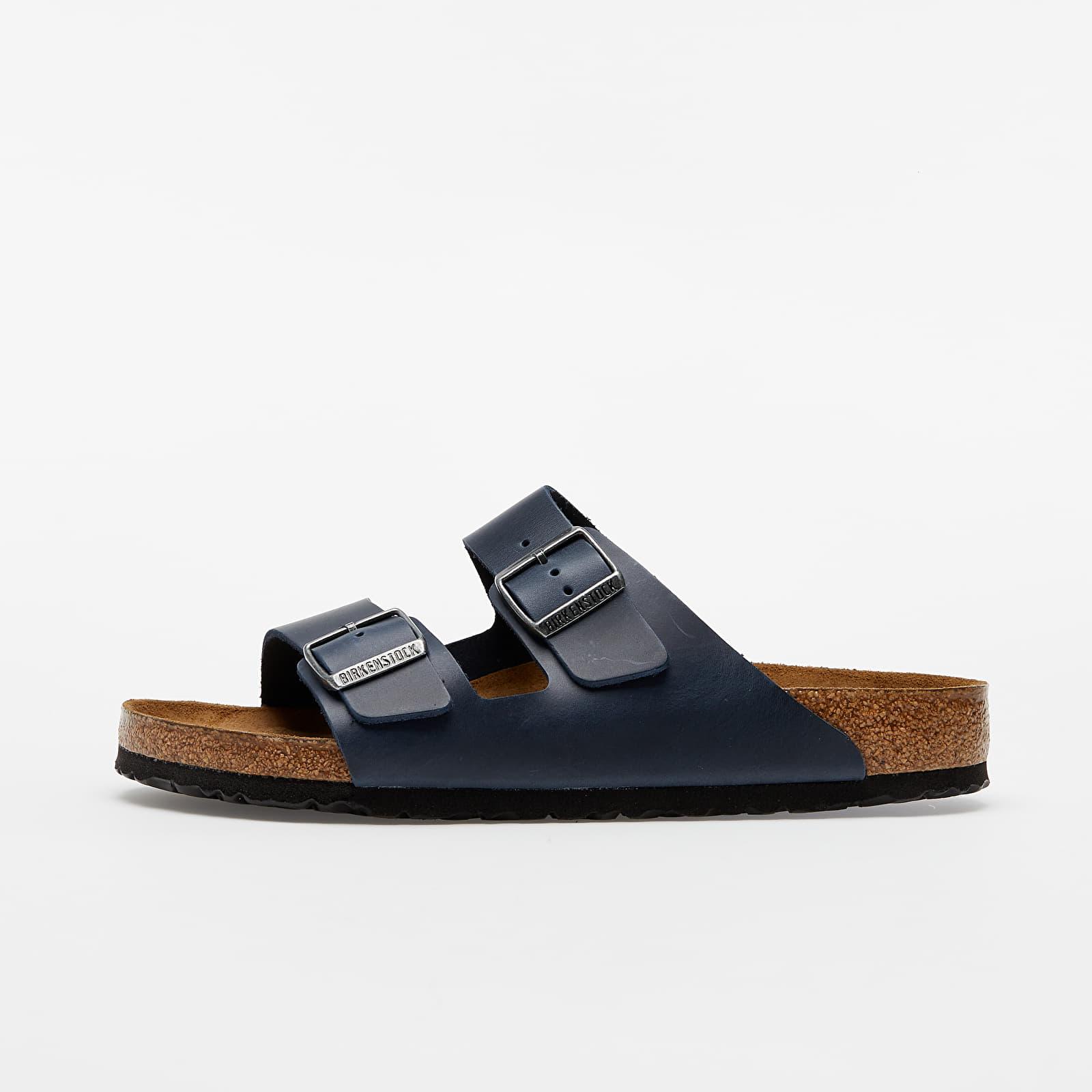 Încălțăminte și sneakerși pentru bărbați Birkenstock Arizona BS Blue