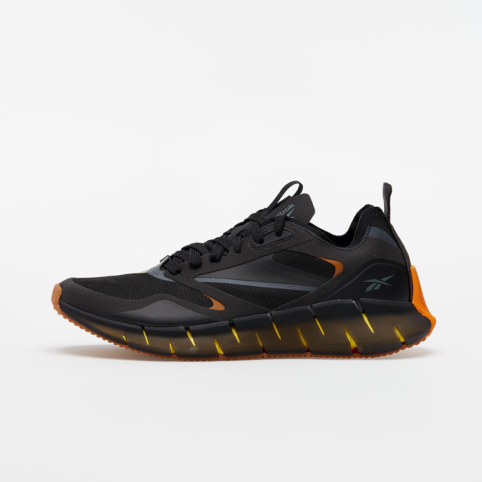 Încălțăminte și sneakerși pentru bărbați Reebok Zig Kinetica Horizon Black/ True Grey 7/ Utility Yellow