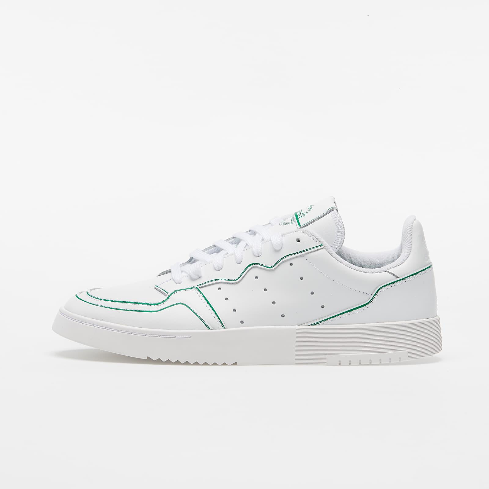adidas Supercourt Ftw White/ Ftw White/ Green EUR 39 1/3