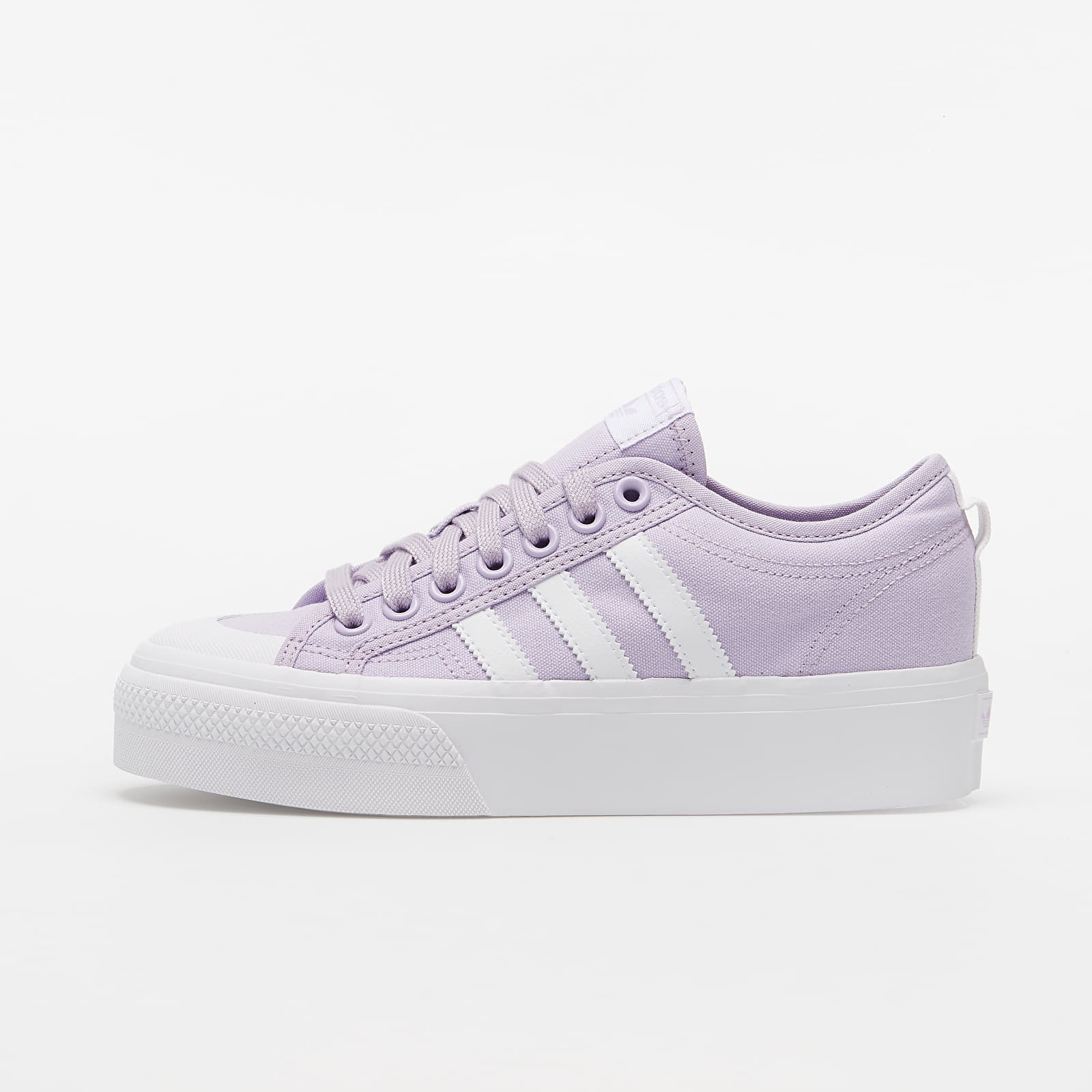 Women's shoes adidas Nizza Platform W Blizard Purple/ Ftw White/ Ftw White
