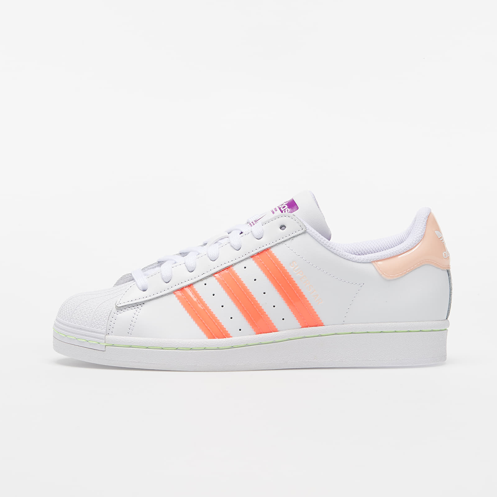 adidas Superstar W Ftw White/ Signature Pink/ Shock Purple EUR 38
