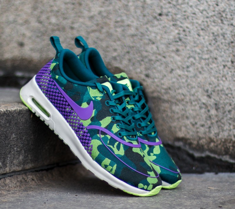 Nike Wmns Air Max Thea Jacquard Premium Teal  Vivid Purple- Ghost Green-  Sail 06f646e48