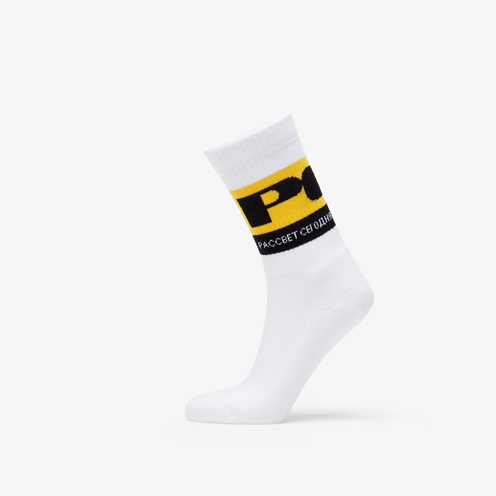 Chaussettes PACCBET Sport Socks White