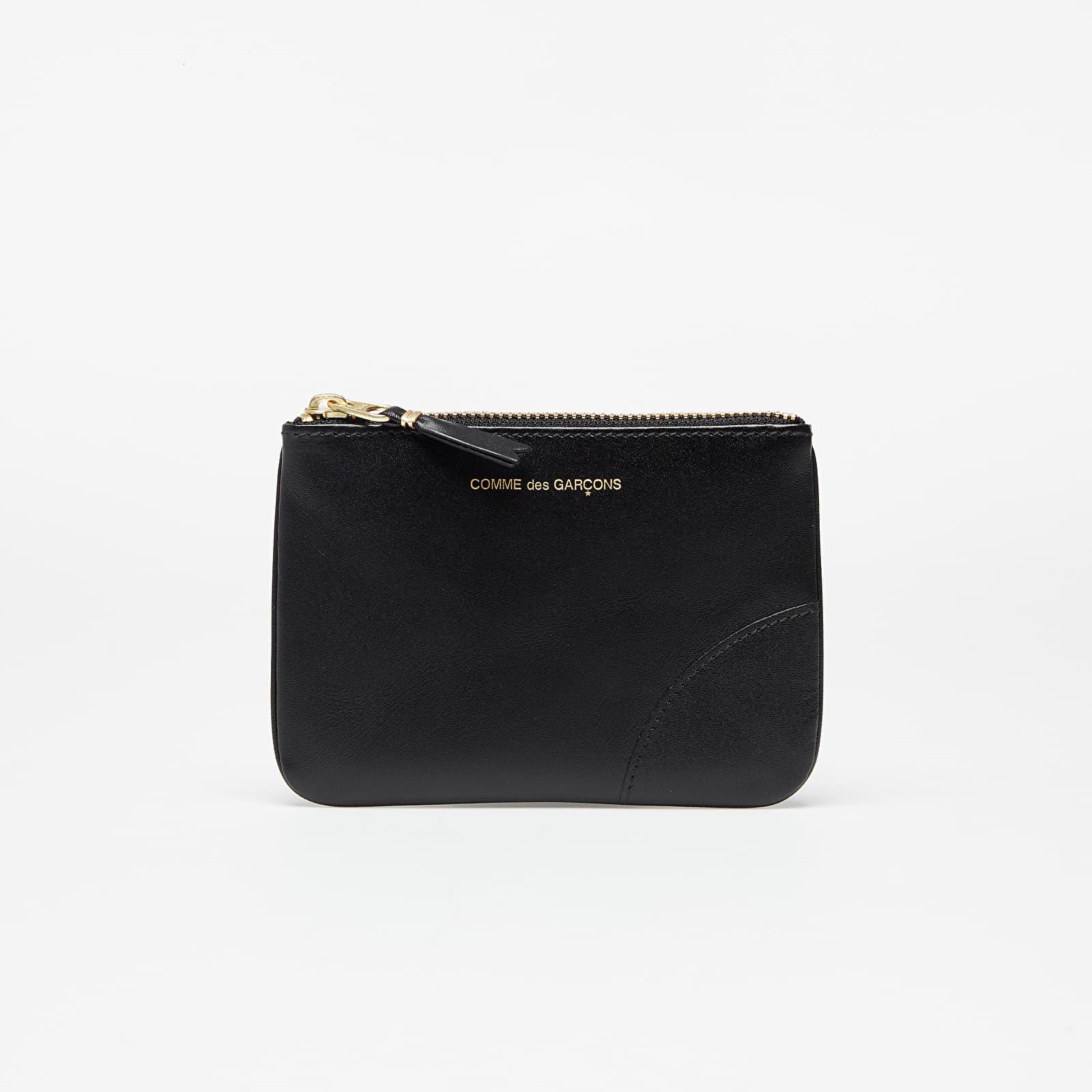Portafogli Comme des Garçons Wallet Classic Line Leather Wallet Black