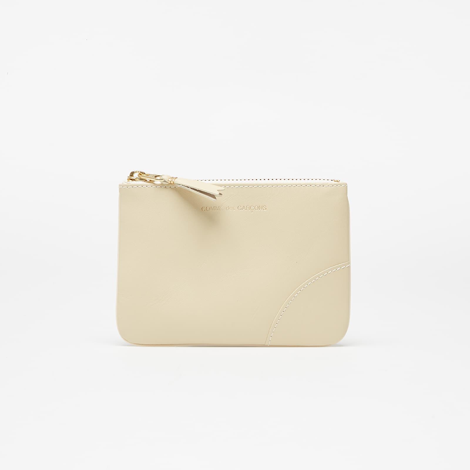 Portefeuilles Comme des Garçons Wallet Classic Line Leather Wallet White