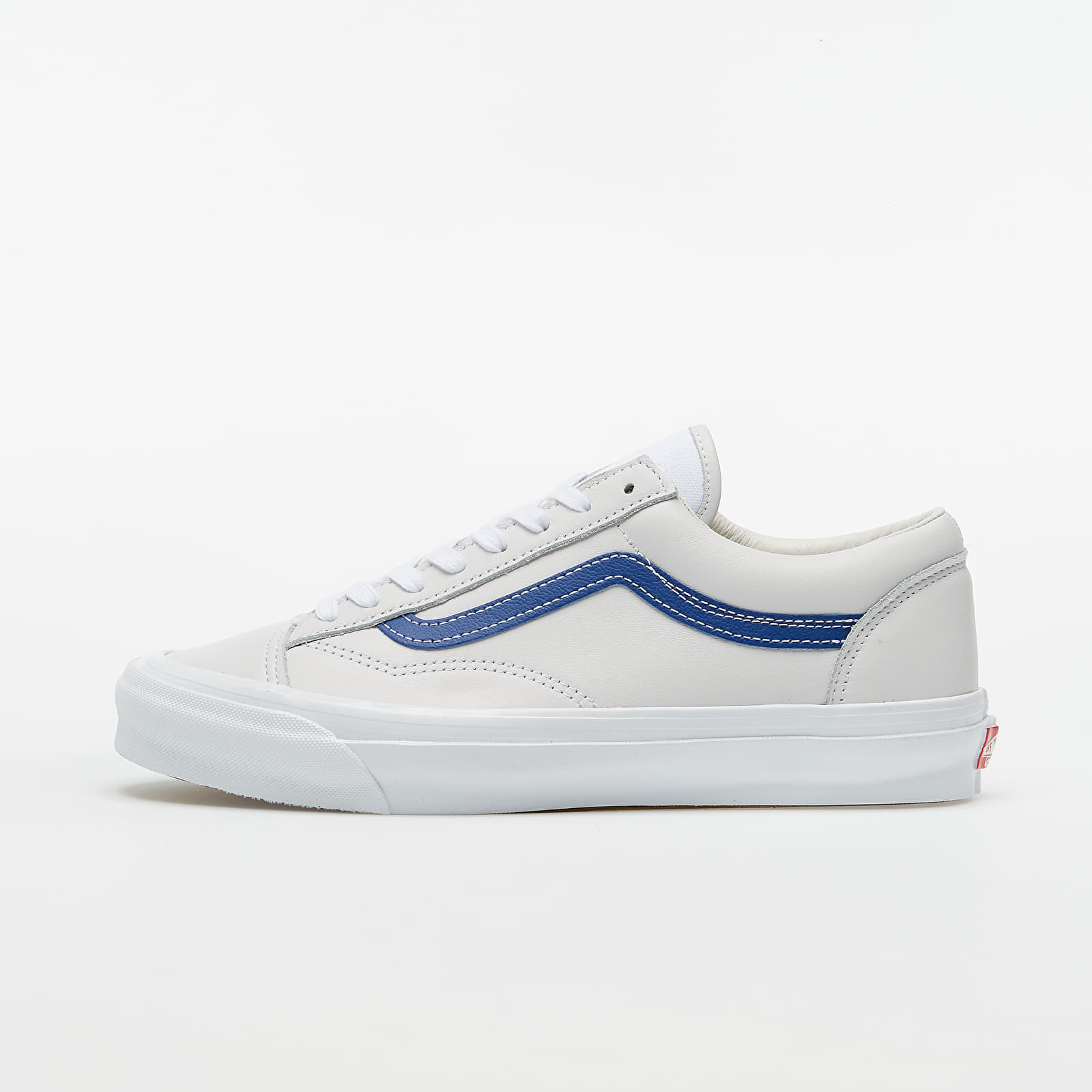Chaussures et baskets homme Vans OG Style 36 LX (Leather) Blue/ True White