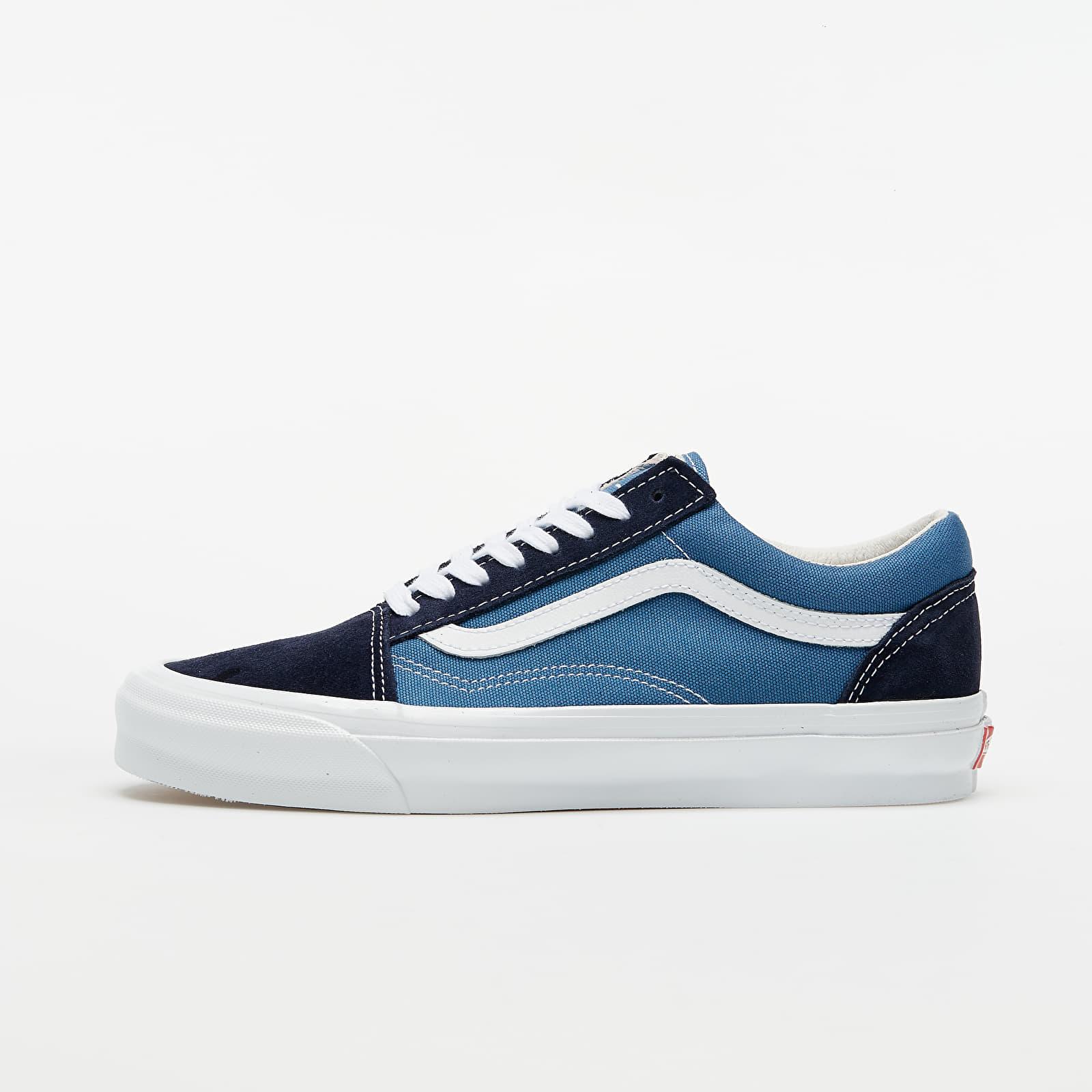 Pánske tenisky a topánky Vans OG Old Skool LX (Suede/ Canvas) Navy