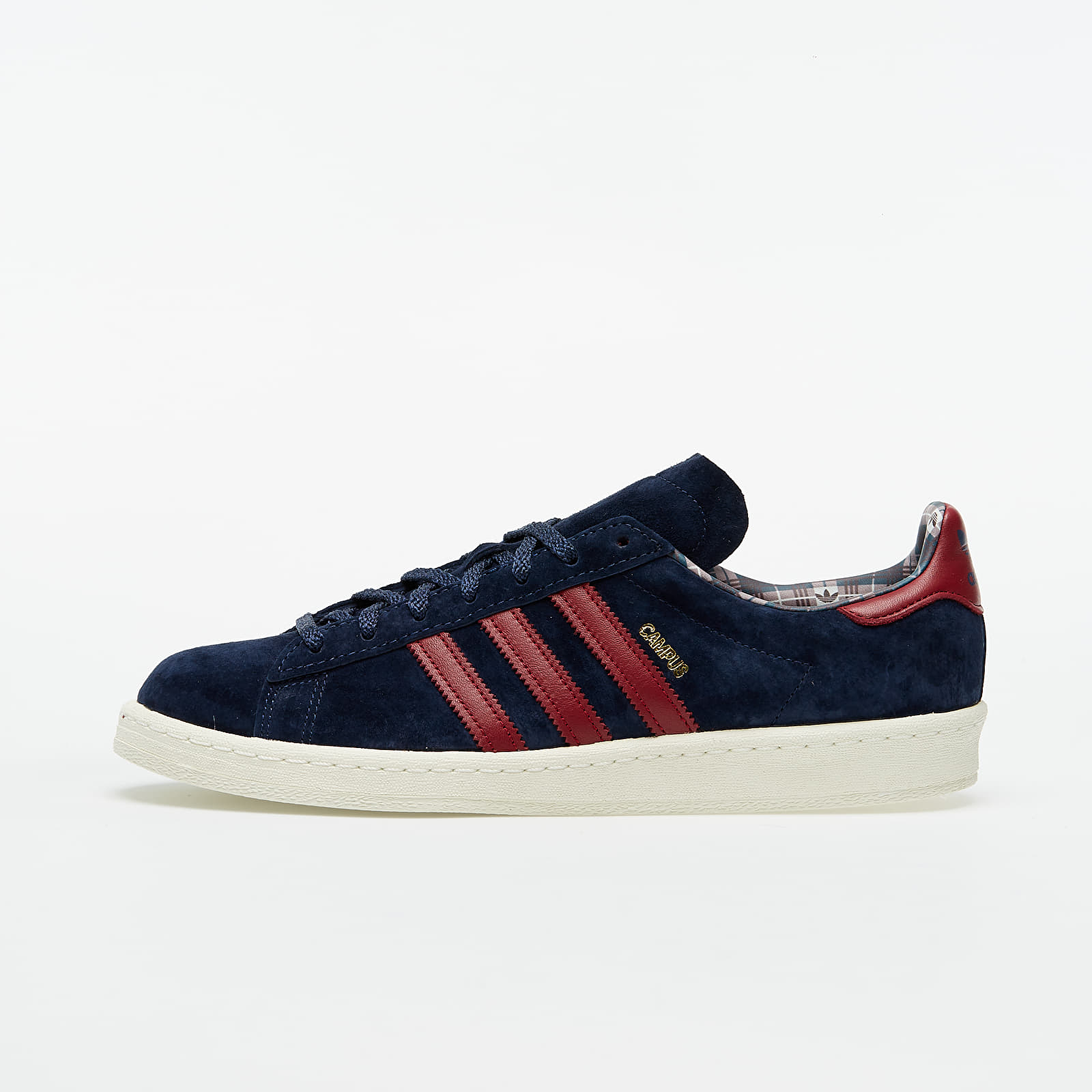 adidas Campus 80s Off White/ Core Burgundy/ Mesa EUR 41 1/3