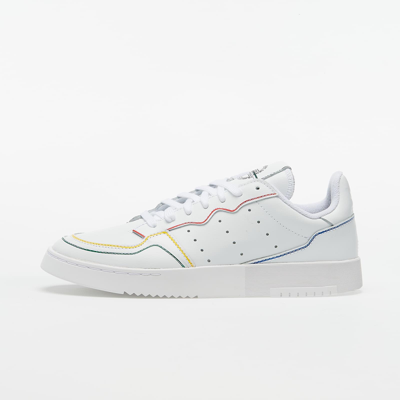 Men's shoes adidas Supercourt Ftw White/ Ftw White/ Blue