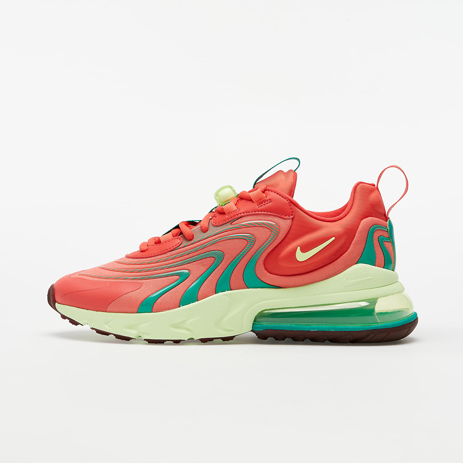 Nike Air Max 270 React ENG Track Red/ Barely Volt-Magic Ember   Footshop