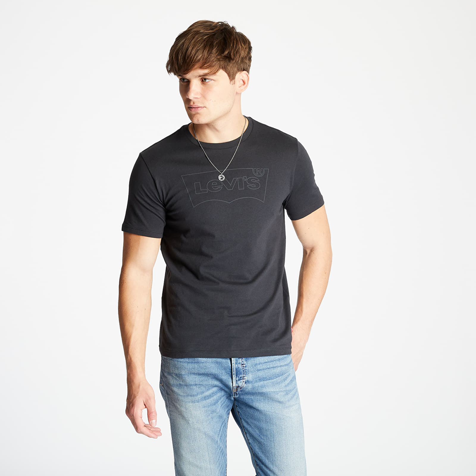 Tricouri Levi's® Graphic Tee Black