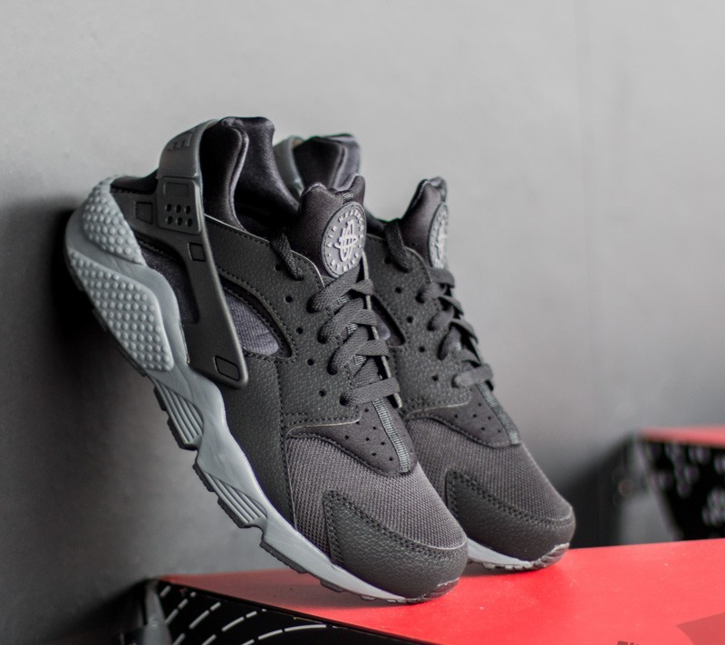 Identificar piloto sensación  Men's shoes Nike Air Huarache Black/ Black - Black - Dark Grey