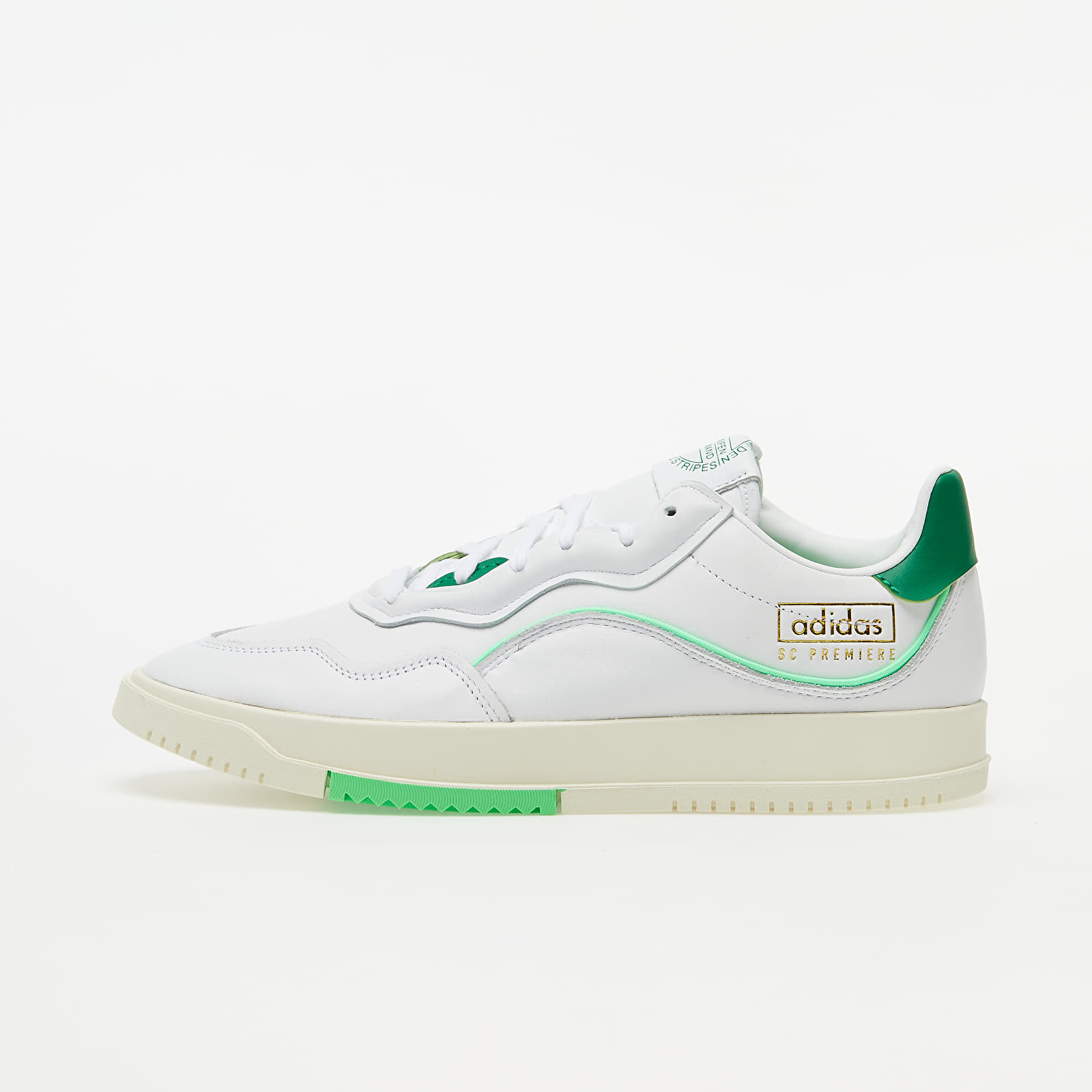 Мужская обувь adidas SC Premiere Ftw White/ Green/ Shock Lime