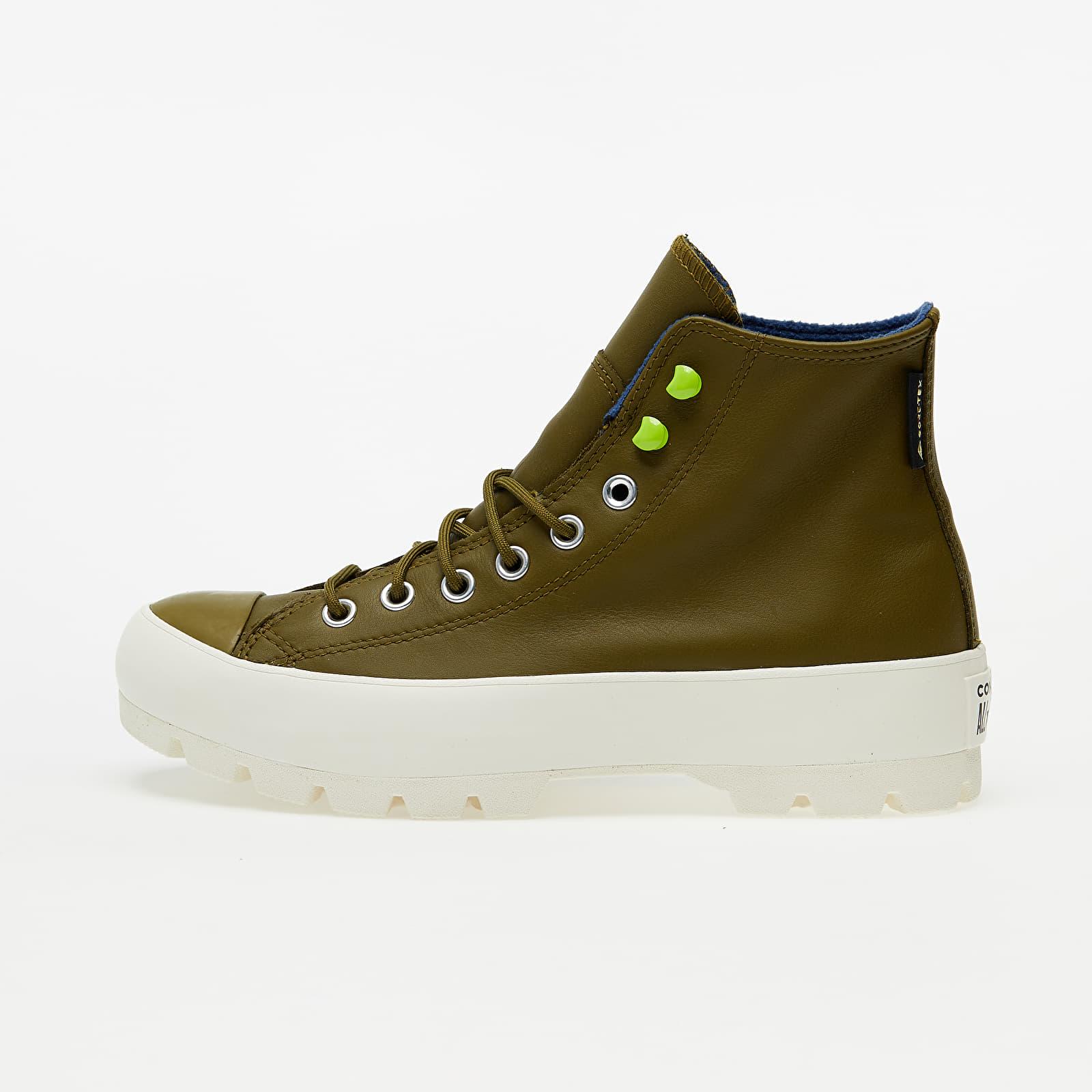 Női cipők Converse Chuck Taylor All Star Lugged Winter Dark Moss/ Navy/ Egret