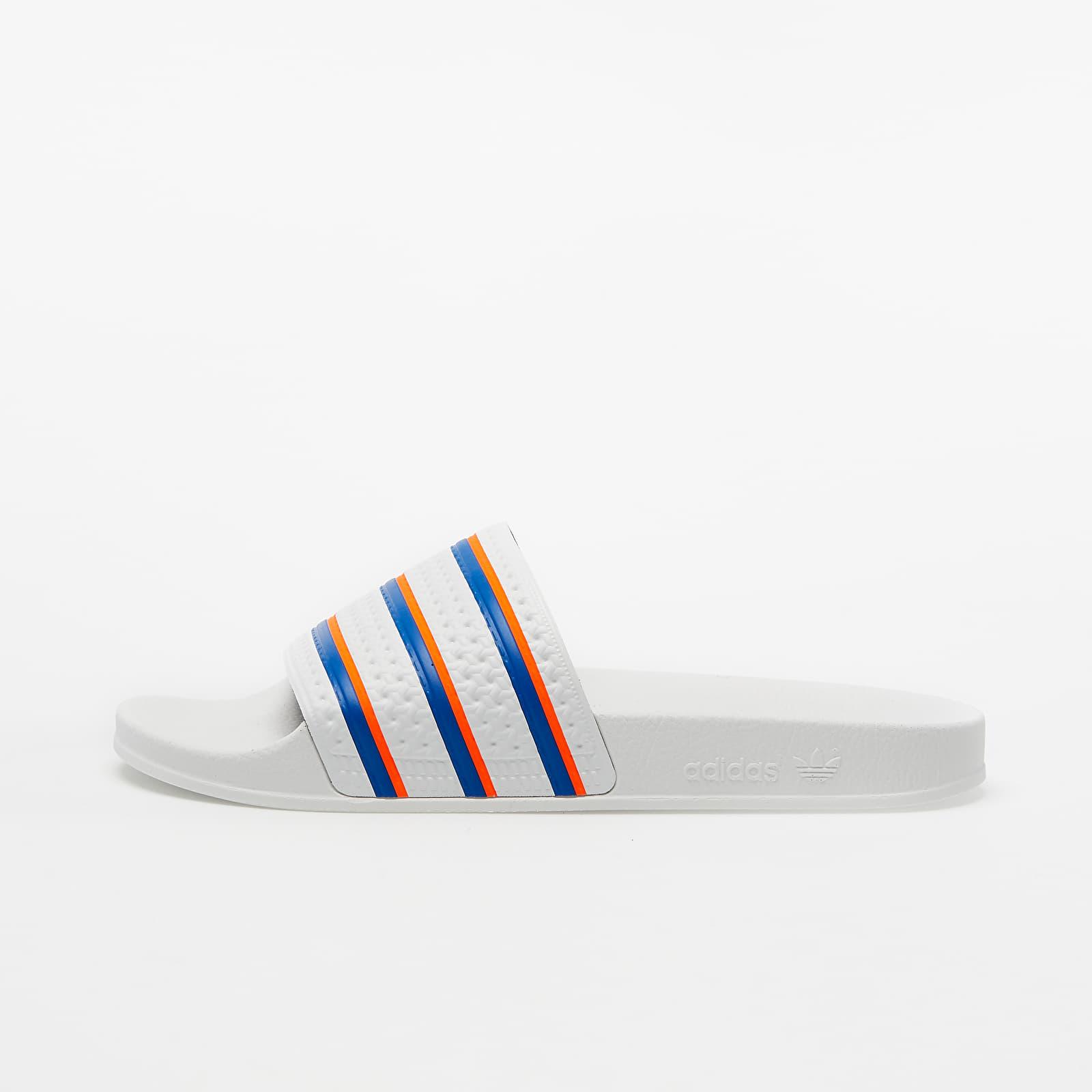 Pánske tenisky a topánky adidas Adilette Ftw White/ Blue/ Solar Red