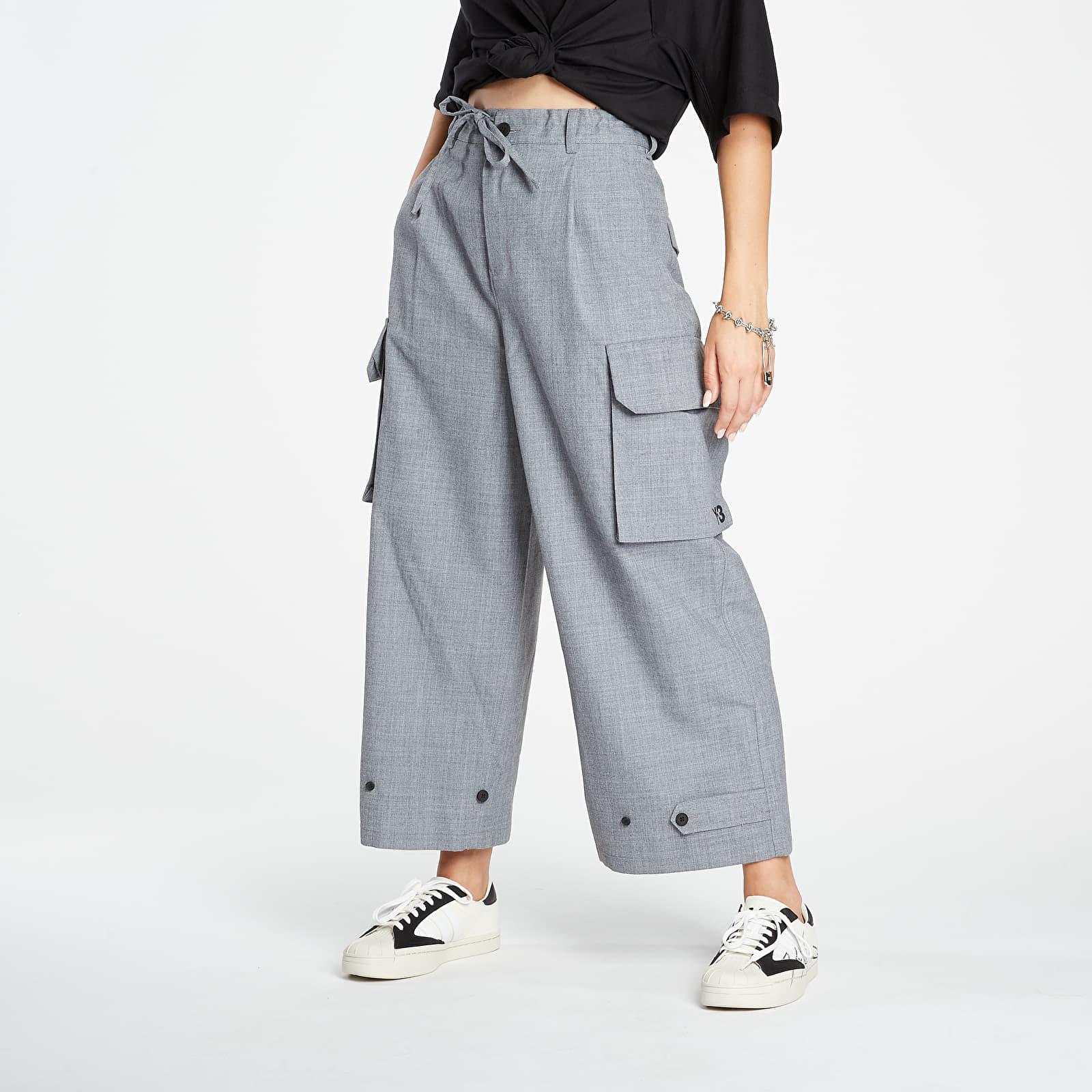 Džíny a kalhoty Y-3 Classic Cargo Pants Medium Grey Melange