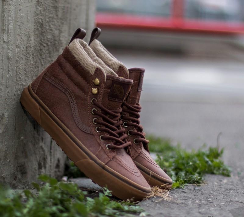 Vans Sk8-Hi MTE Brown/ Herringbone | Footshop