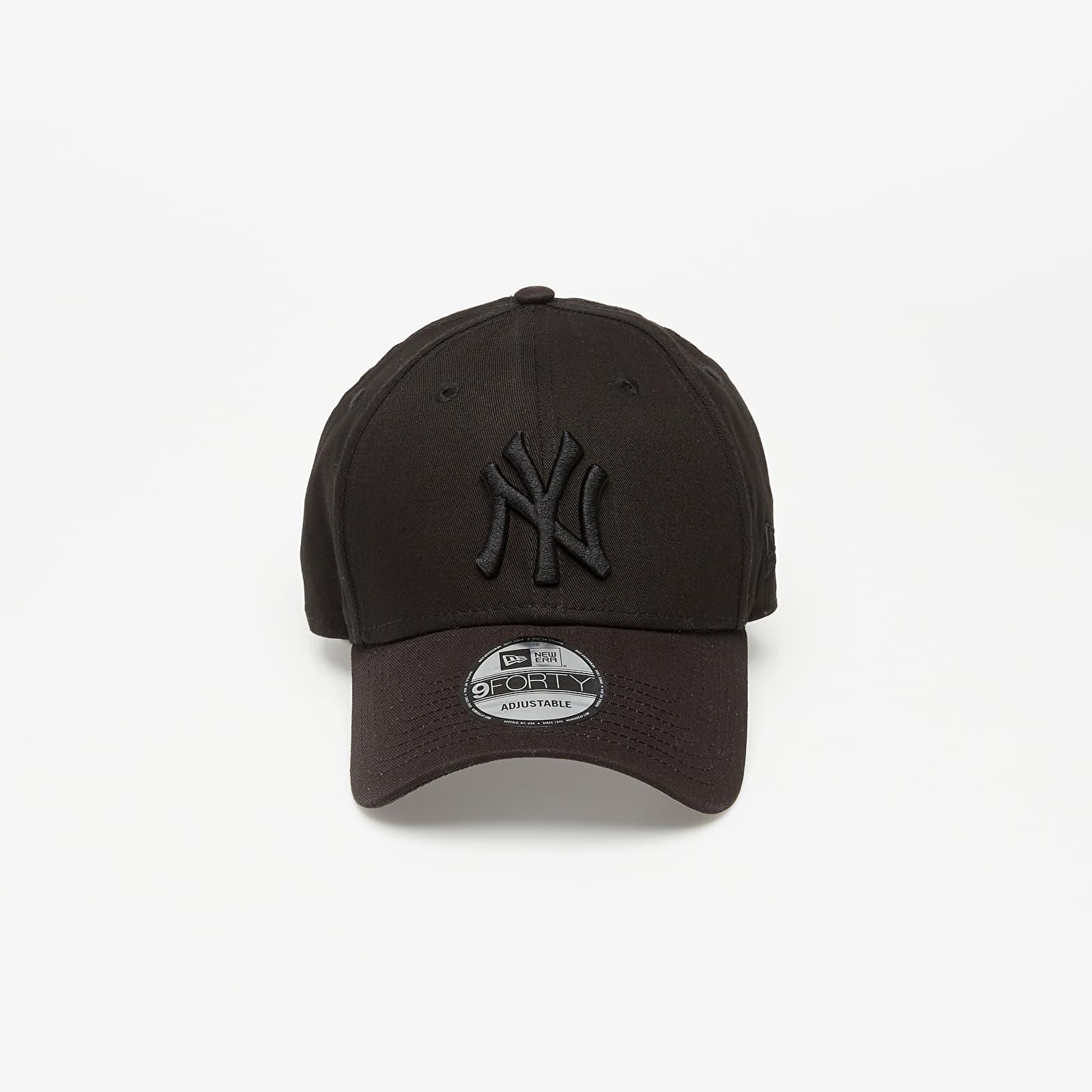 New Era 9Forty MLB League Essential New York Yankees Cap Black