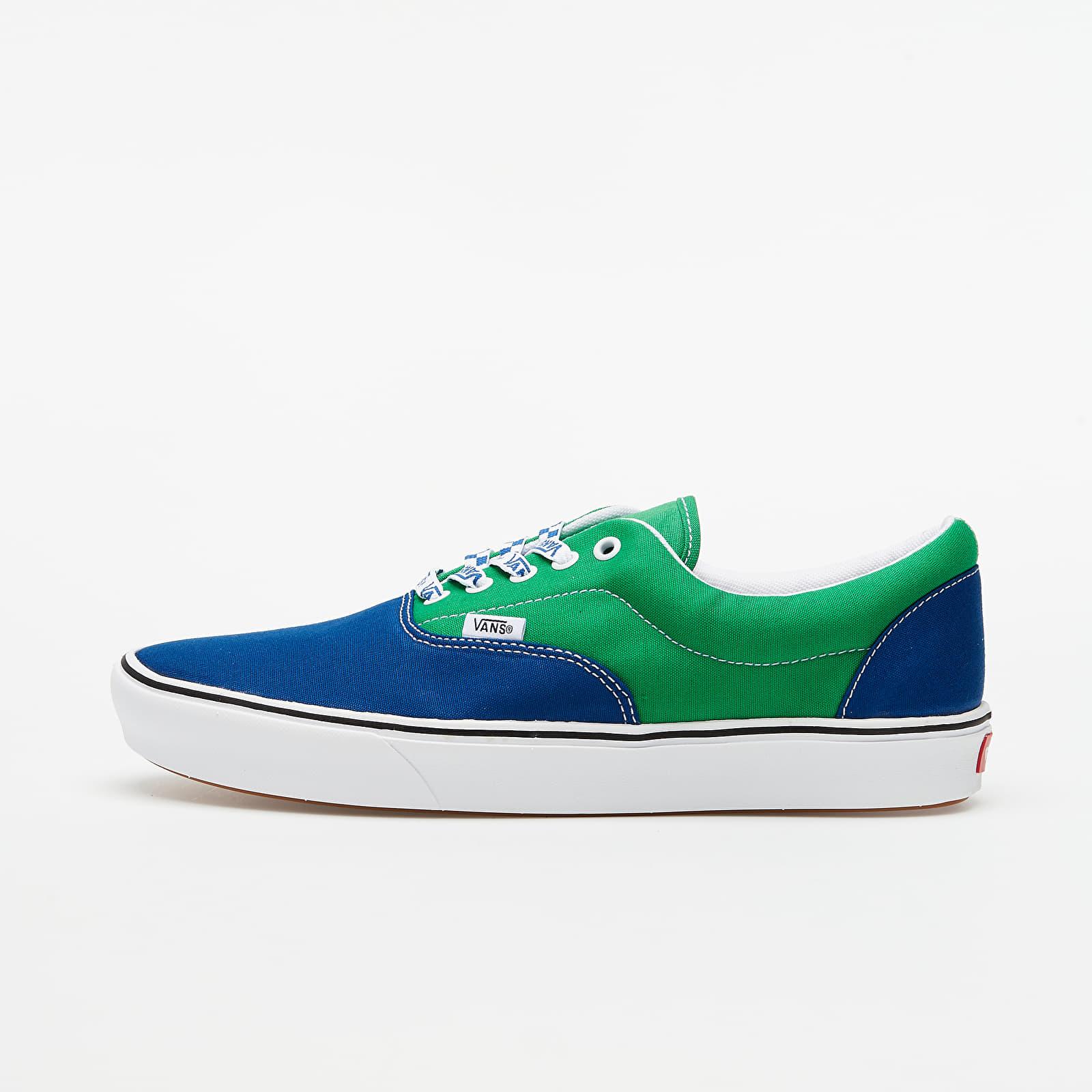 Buty męskie Vans ComfyCush Era (Lace Mix) True White/ Fern Green