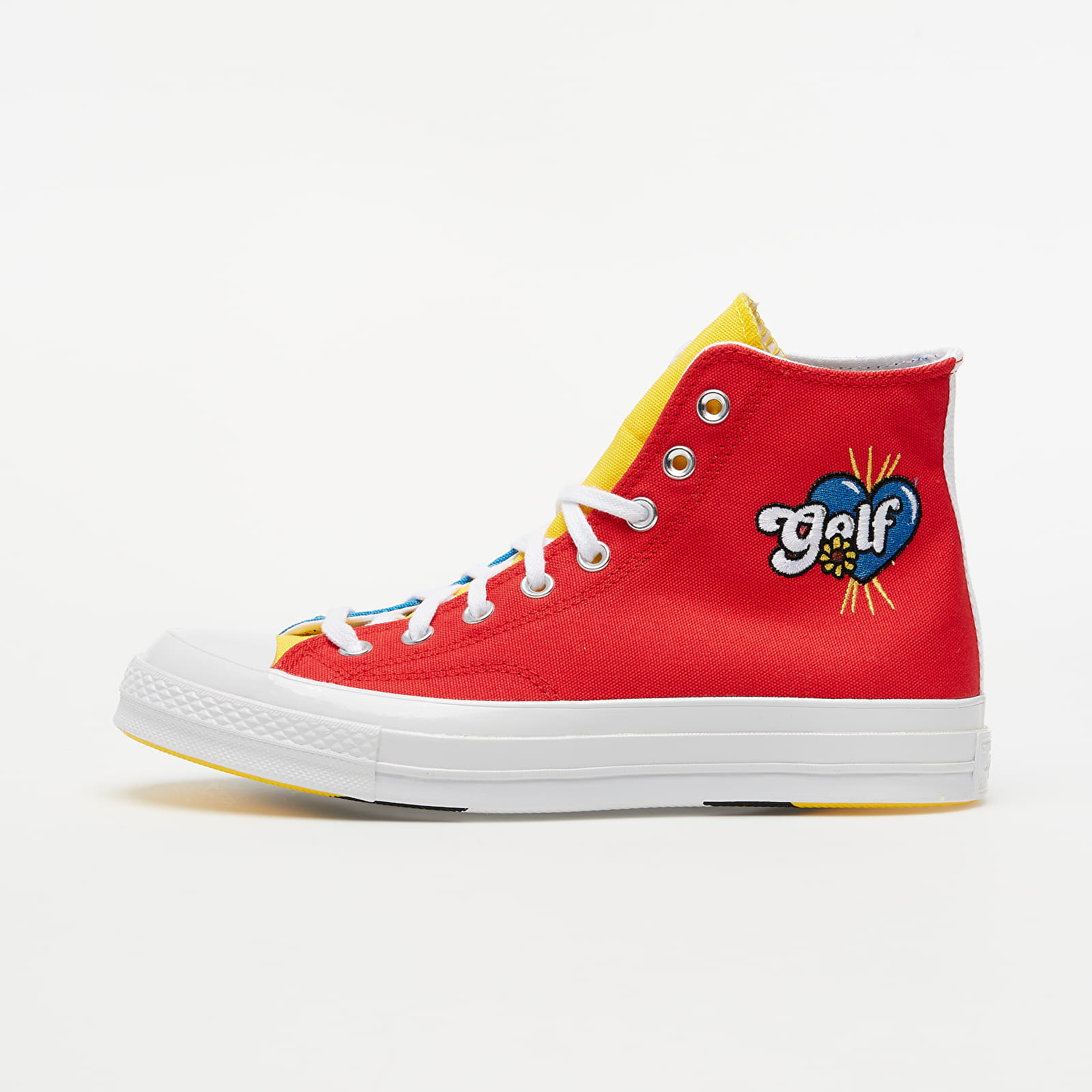 Chaussures et baskets homme Converse x Golf Wang Chuck 70 Blue Yellow/ Red