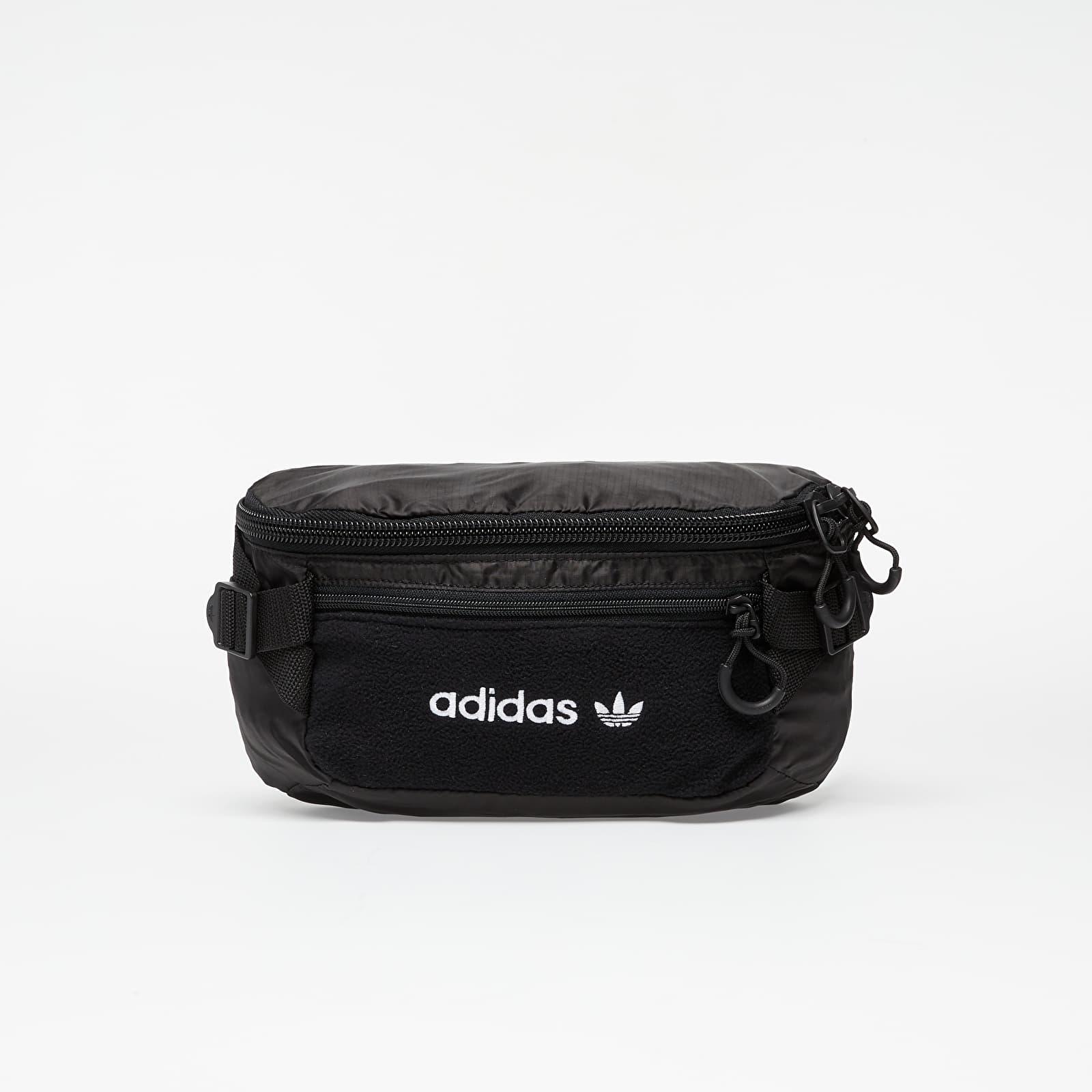 Waist bags adidas Premium Essentials Waistbag L Black/ White