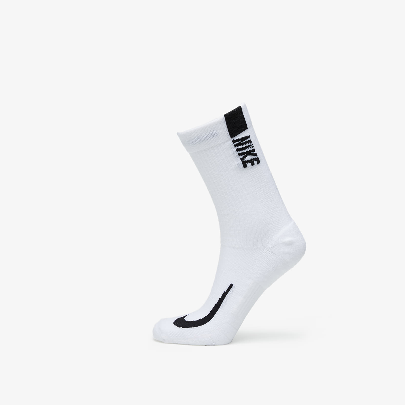 Șosete Nike Multiplier Crew Sock (2 Pairs) White/ Black