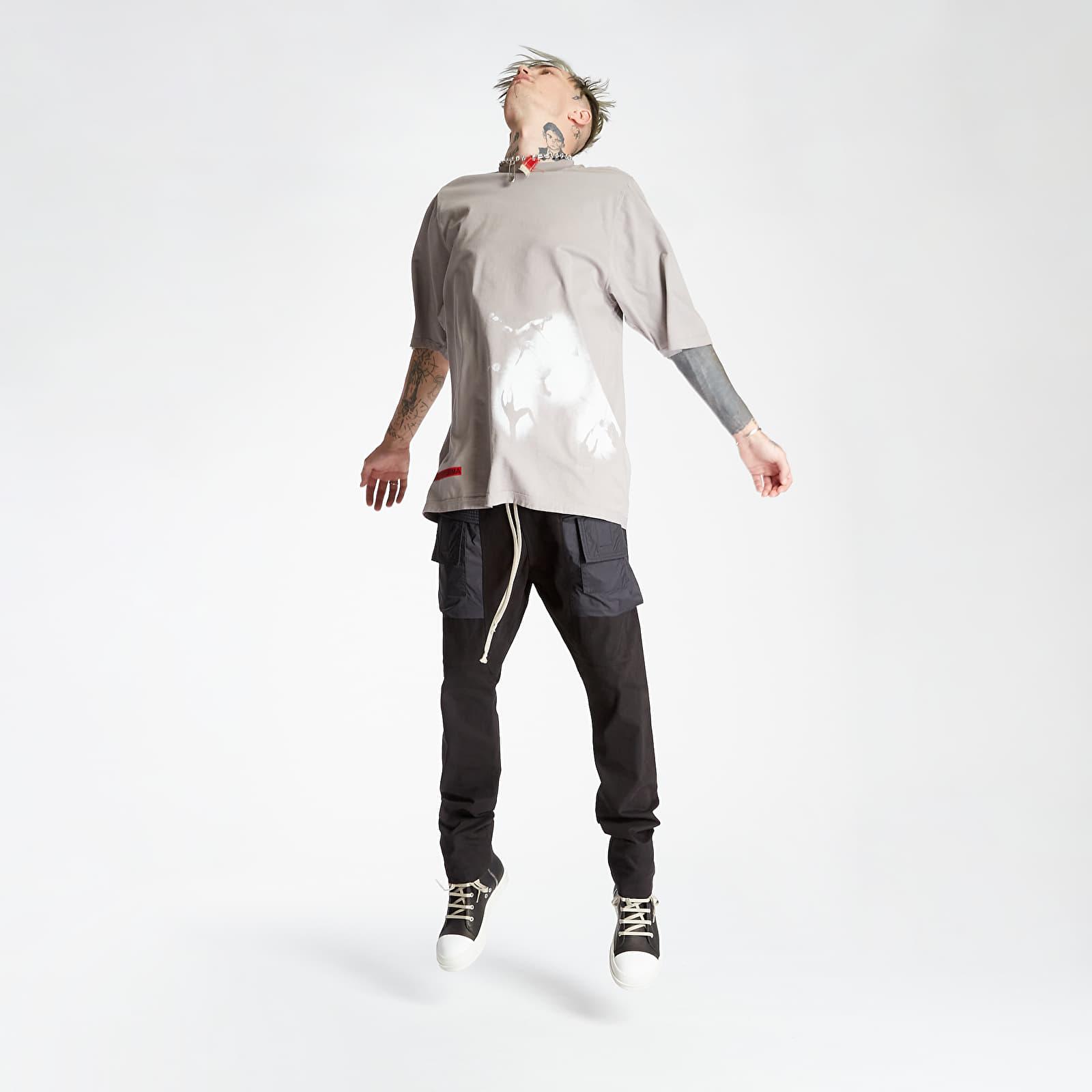 Jeans e pantaloni Rick Owens DRKSHDW Creatch Cargo Drawstring Pants Black