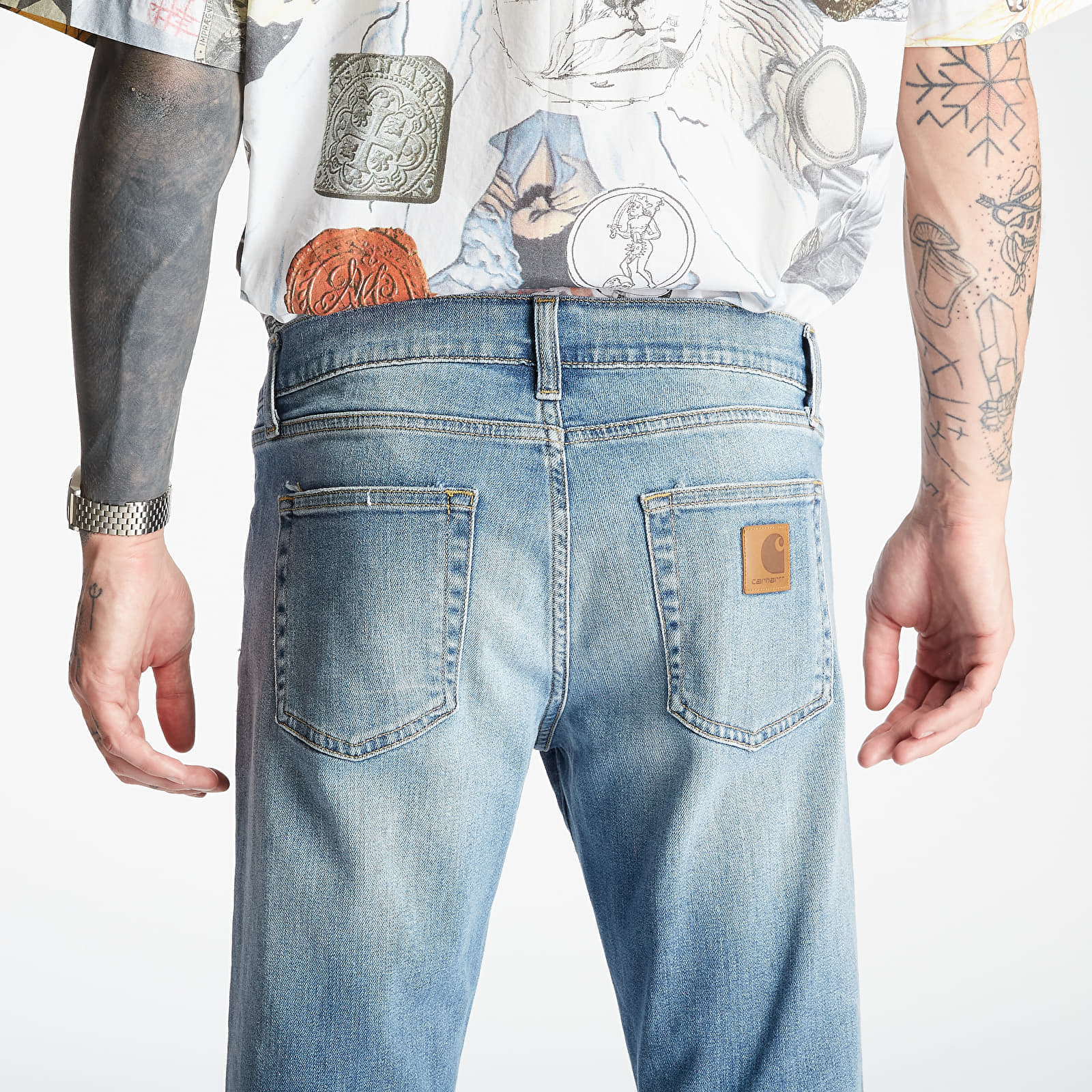 Pantalones Carhartt WIP Rebel Pants Blue