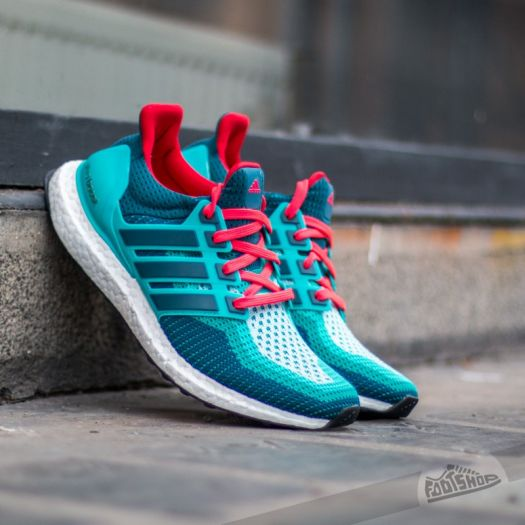 adidas Ultra Boost M Green S12 Mineral S16 Shock Red