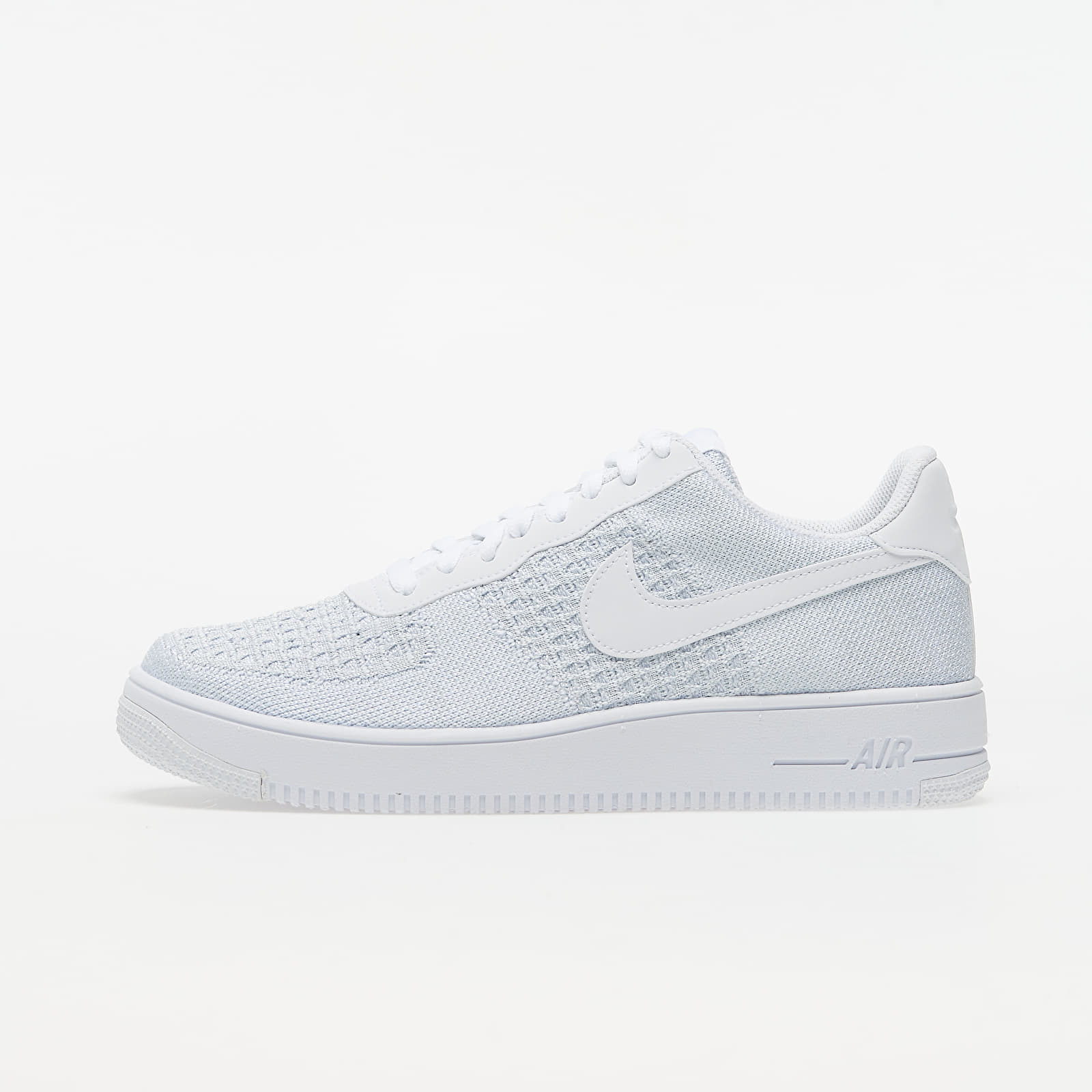 Buty męskie Nike Air Force 1 Flyknit 2.0 White/ Pure Platinum-Pure Platinum-White