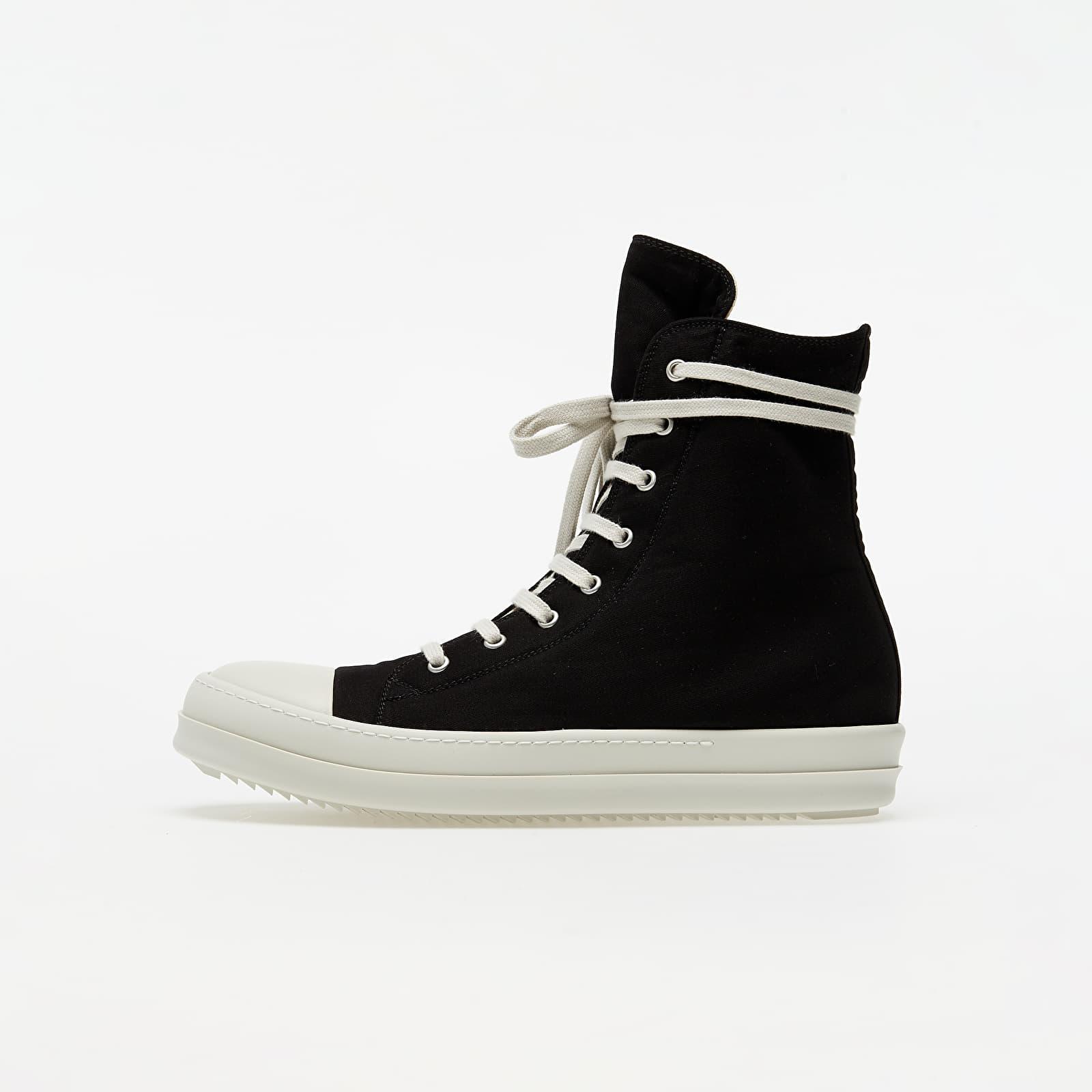 Férfi cipők Rick Owens DRKSHDW Sneaks Black/ White