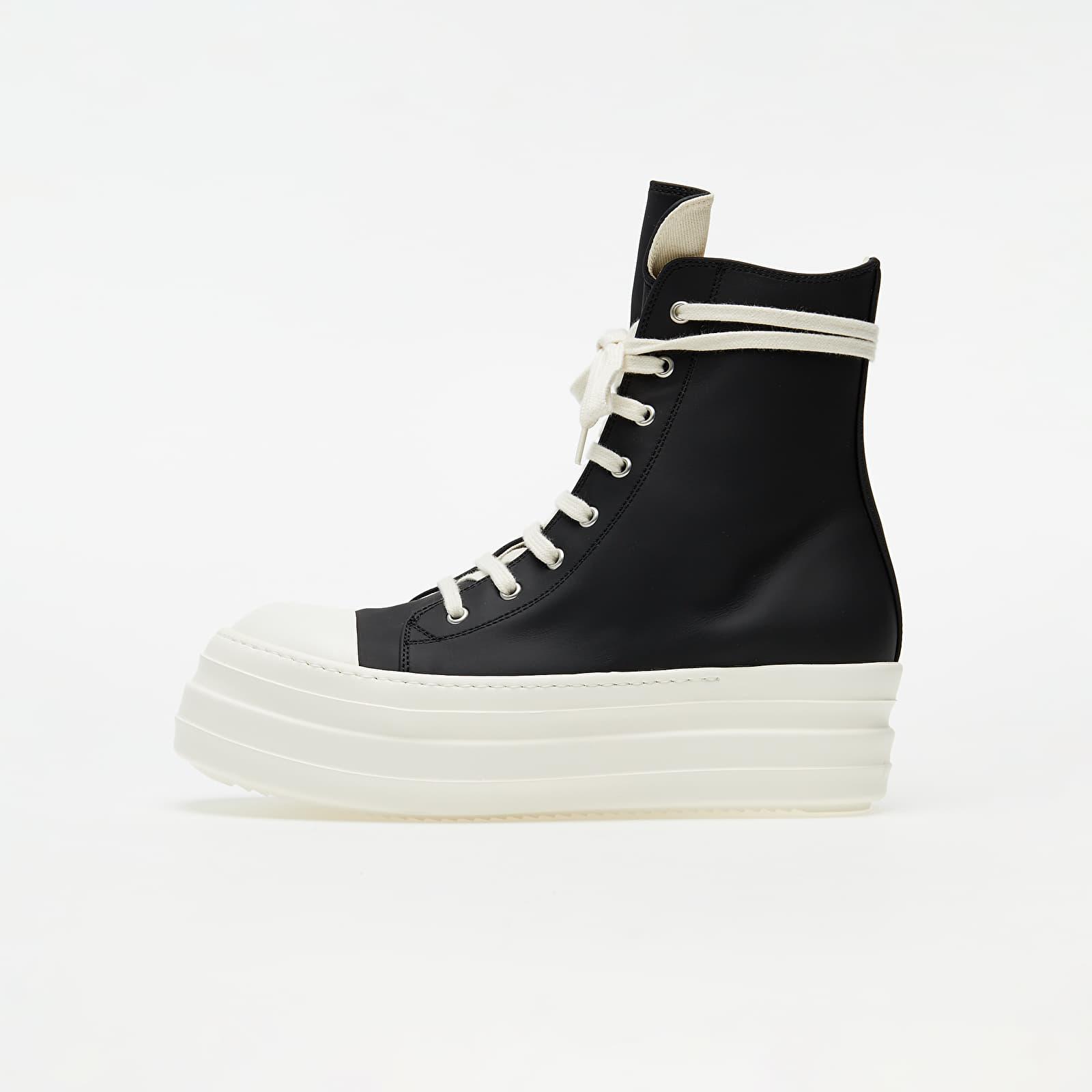 Chaussures et baskets femme Rick Owens DRKSHDW Double Bumper Sneaks Black/ White