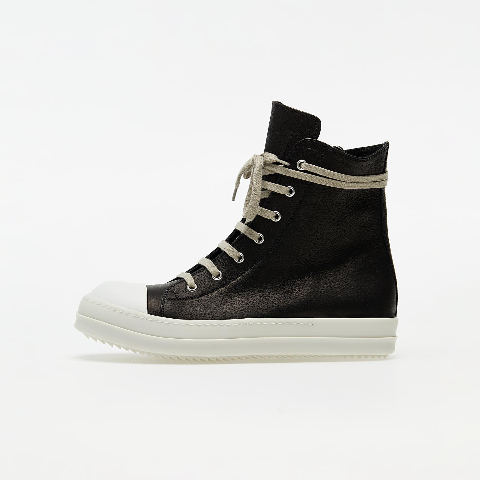 Férfi cipők Rick Owens Sneakers Black/ White