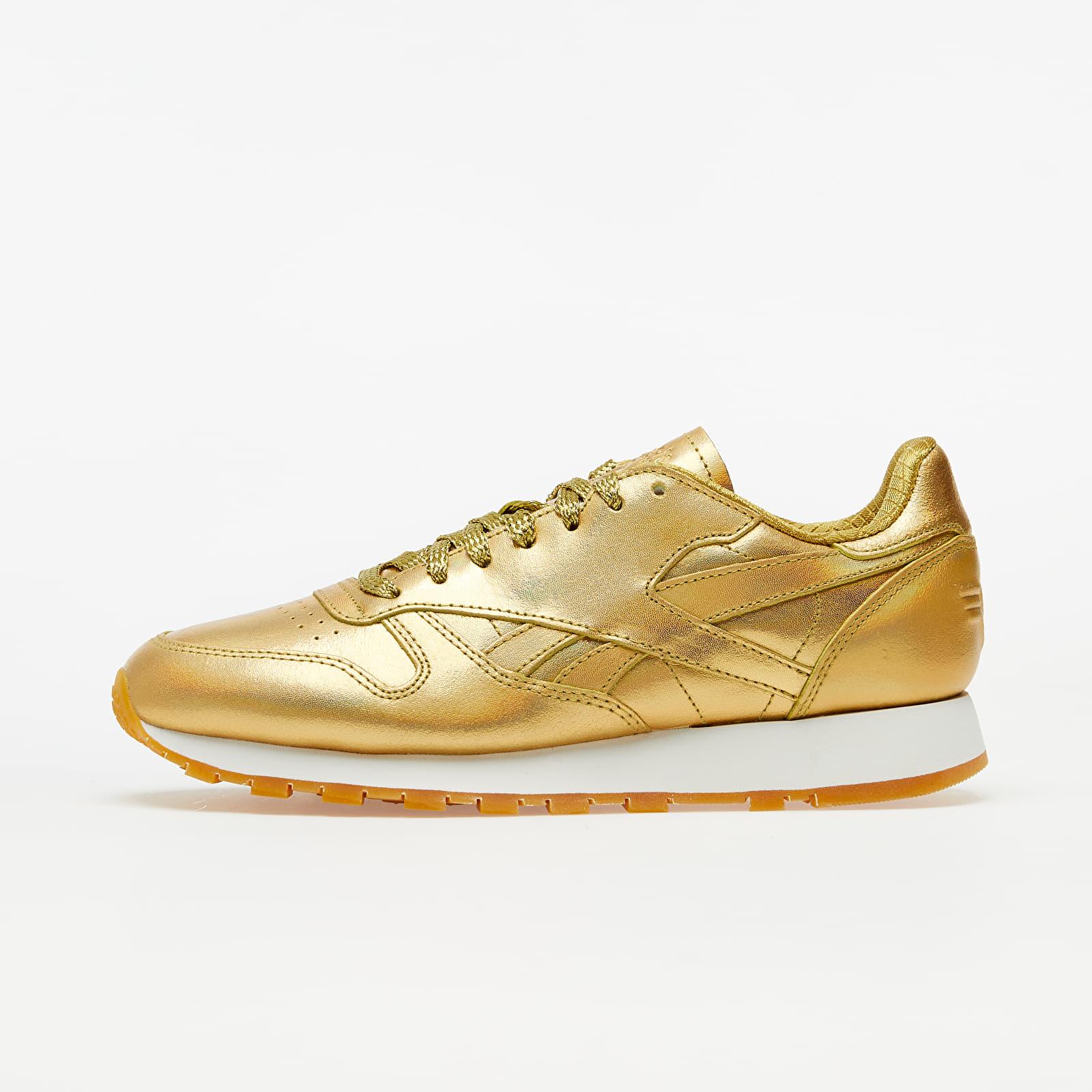 Pánské tenisky a boty Reebok x Wonder Woman Classic Leather MU Gold Metalic/ Gold Metalic/ Gold Metalic