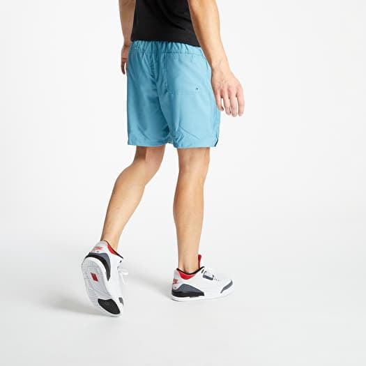 Pantalones Cortos Nike Sportswear Sce Woven Flow Shorts Cerulean Footshop