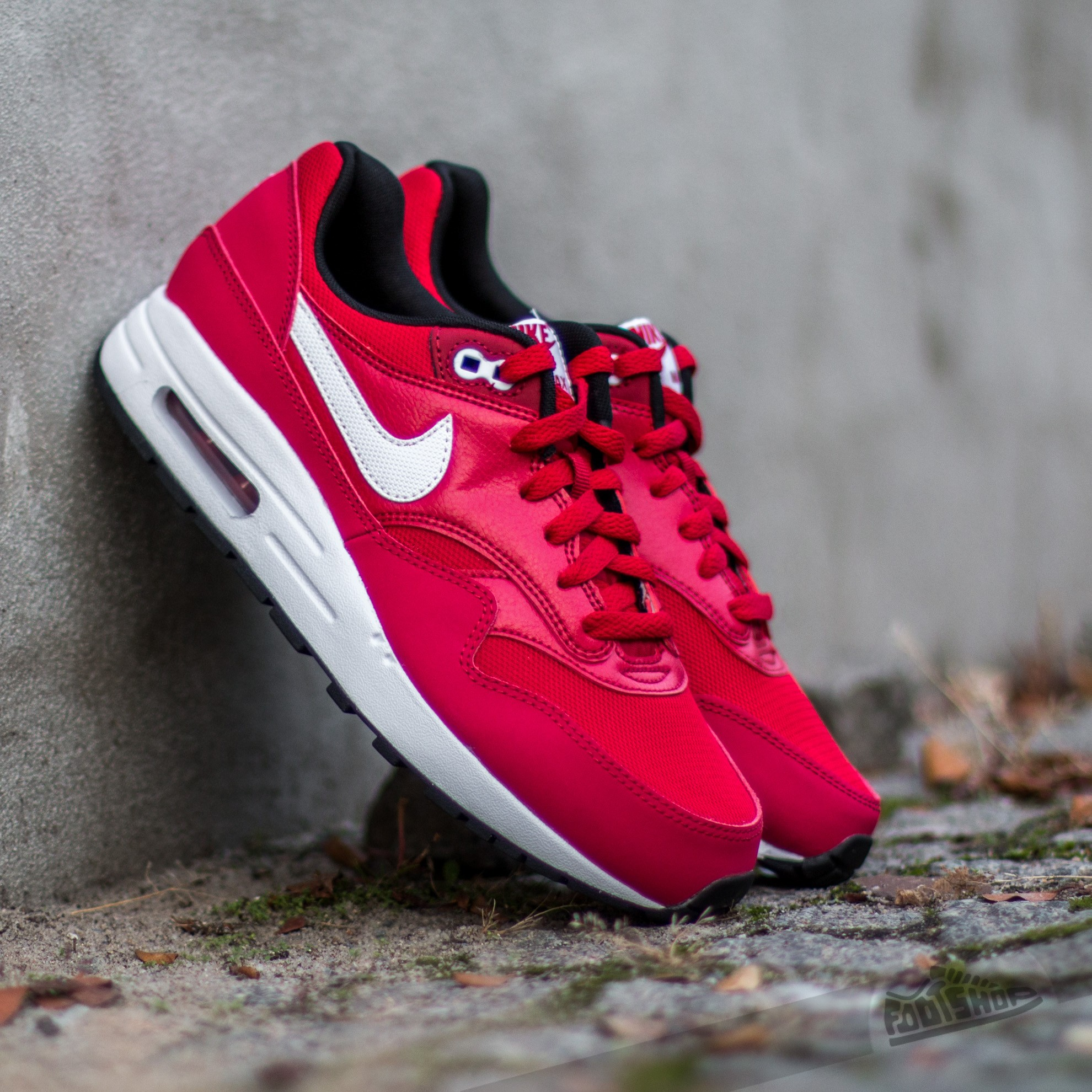 on sale f672f cd04f Nike Air Max 1 (GS) Gym Red/ White-Black | Footshop