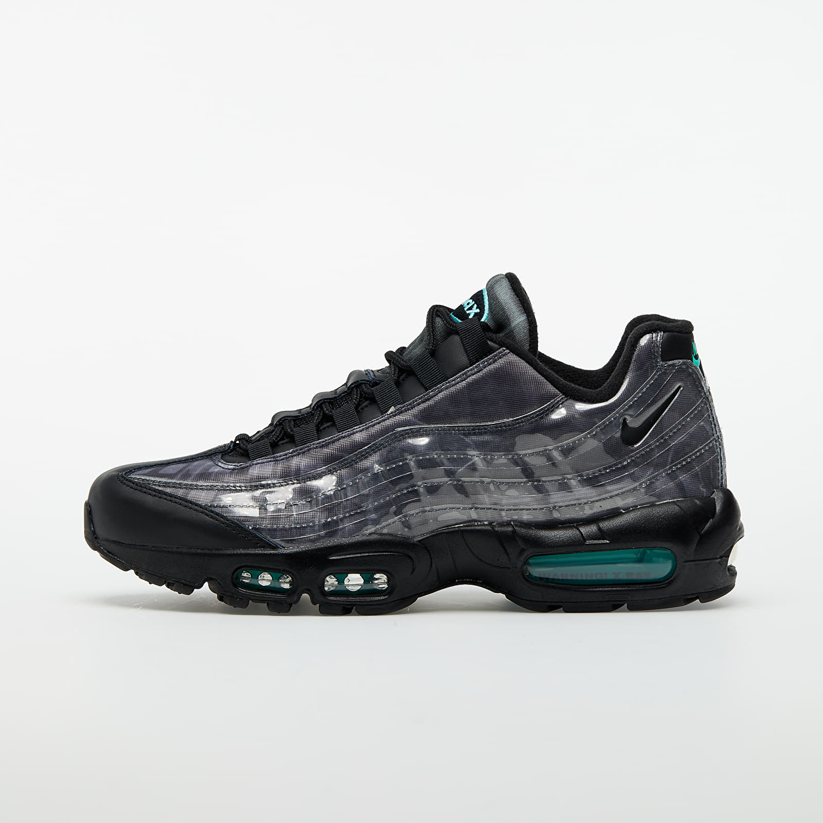 Nike Air Max 95 Black/ Black-Aurora Green-Smoke Grey EUR 42