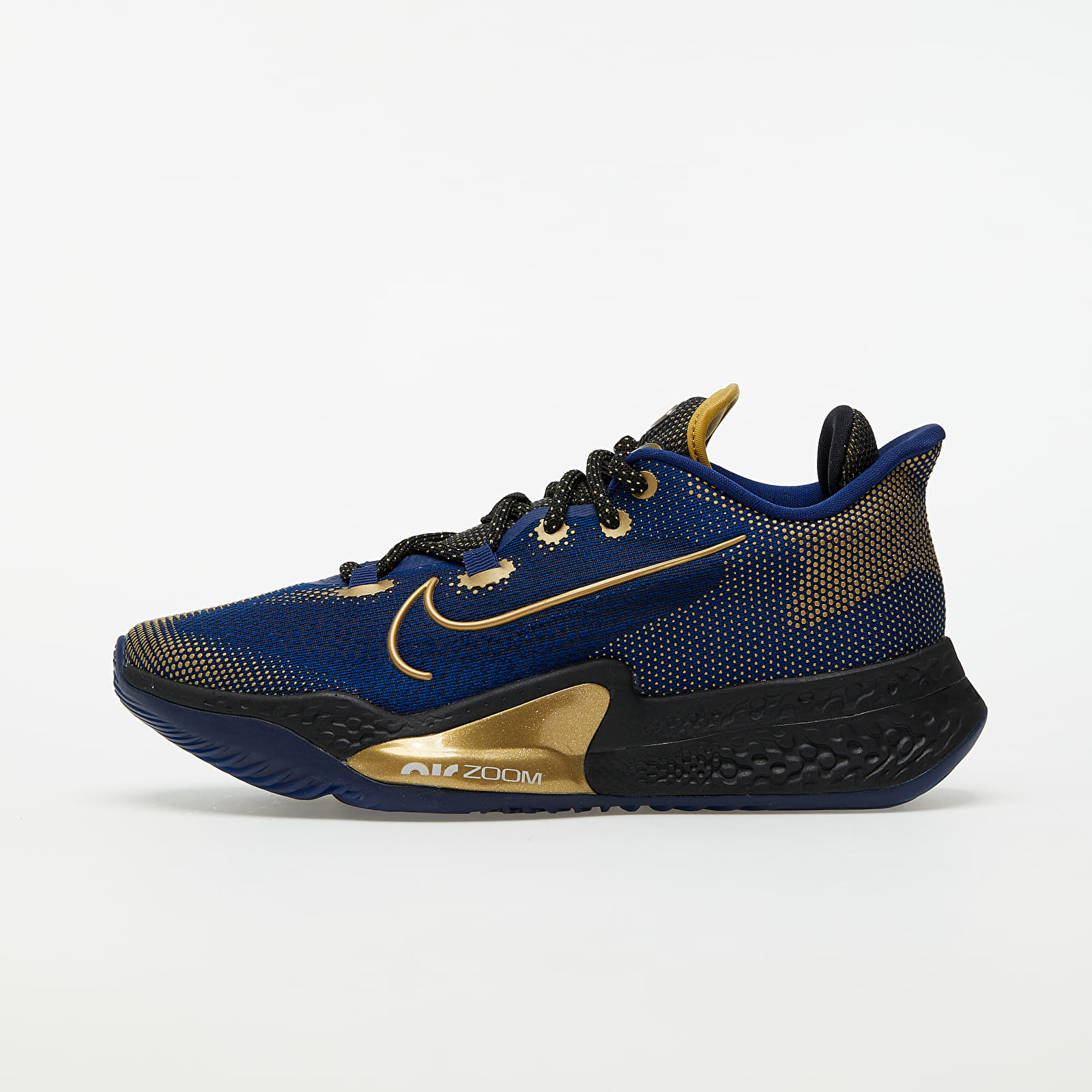 Pánské tenisky a boty Nike Air Zoom BB NXT Blue Void/ Mtlc Gold Coin-Black