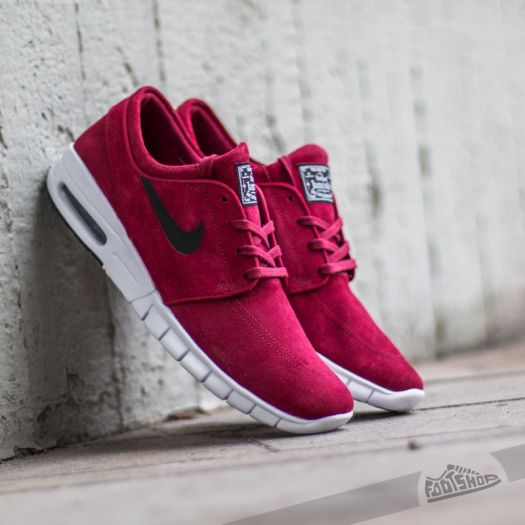 low price factory outlet free delivery Nike Stefan Janoski Max L Team Red/ Black - White | Footshop