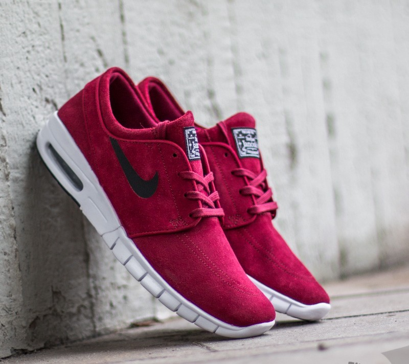 Seducir Dinamarca lapso  Men's shoes Nike Stefan Janoski Max L Team Red/ Black - White | Footshop