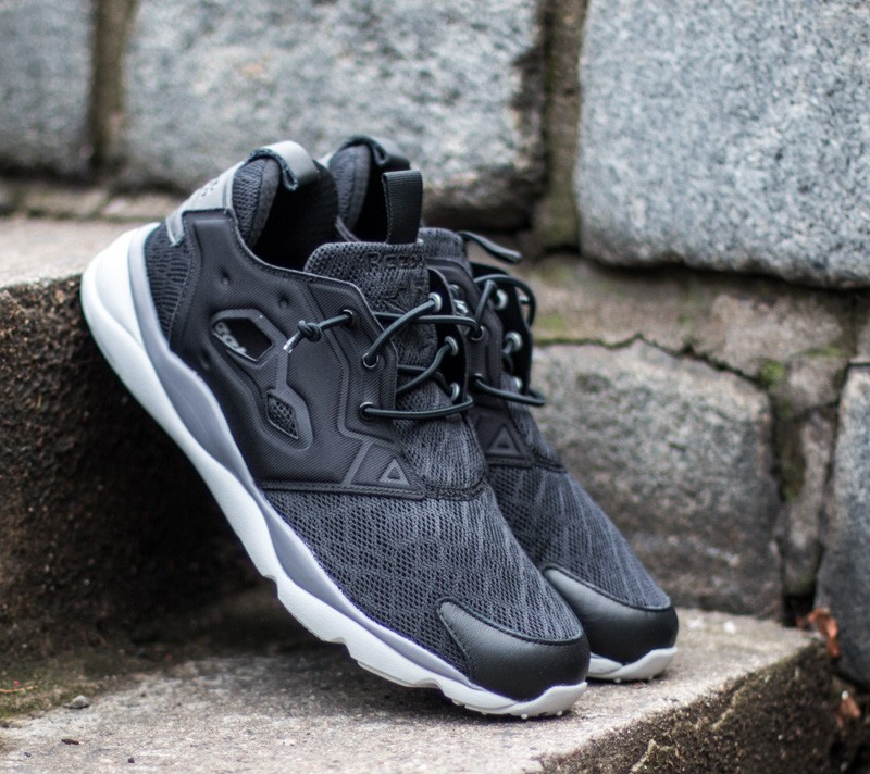 9e8538f55c85 Reebok Furylite TM Men Black  Shark  Steel