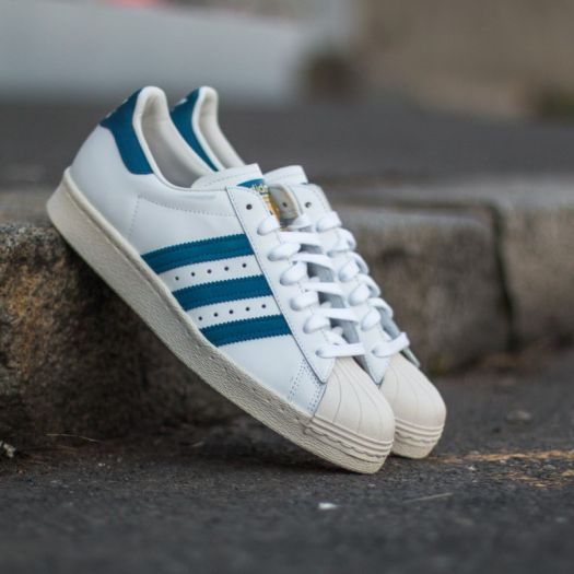 adidas Superstar 80s White Dark Roy Chalk 2 | Footshop
