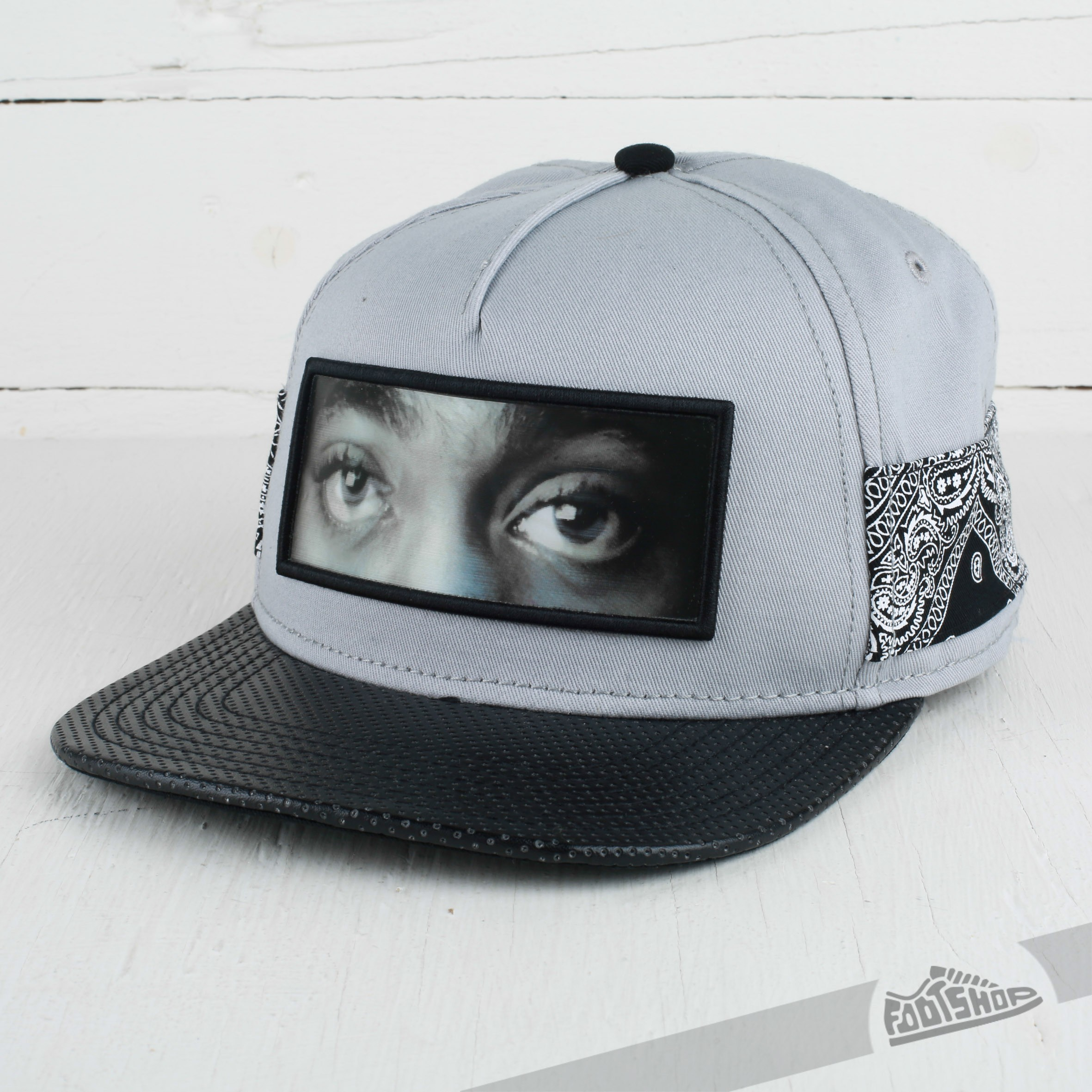 e08bdd0911b Cayler   Sons WL Eyes On Me Cap Grey Black Paisley