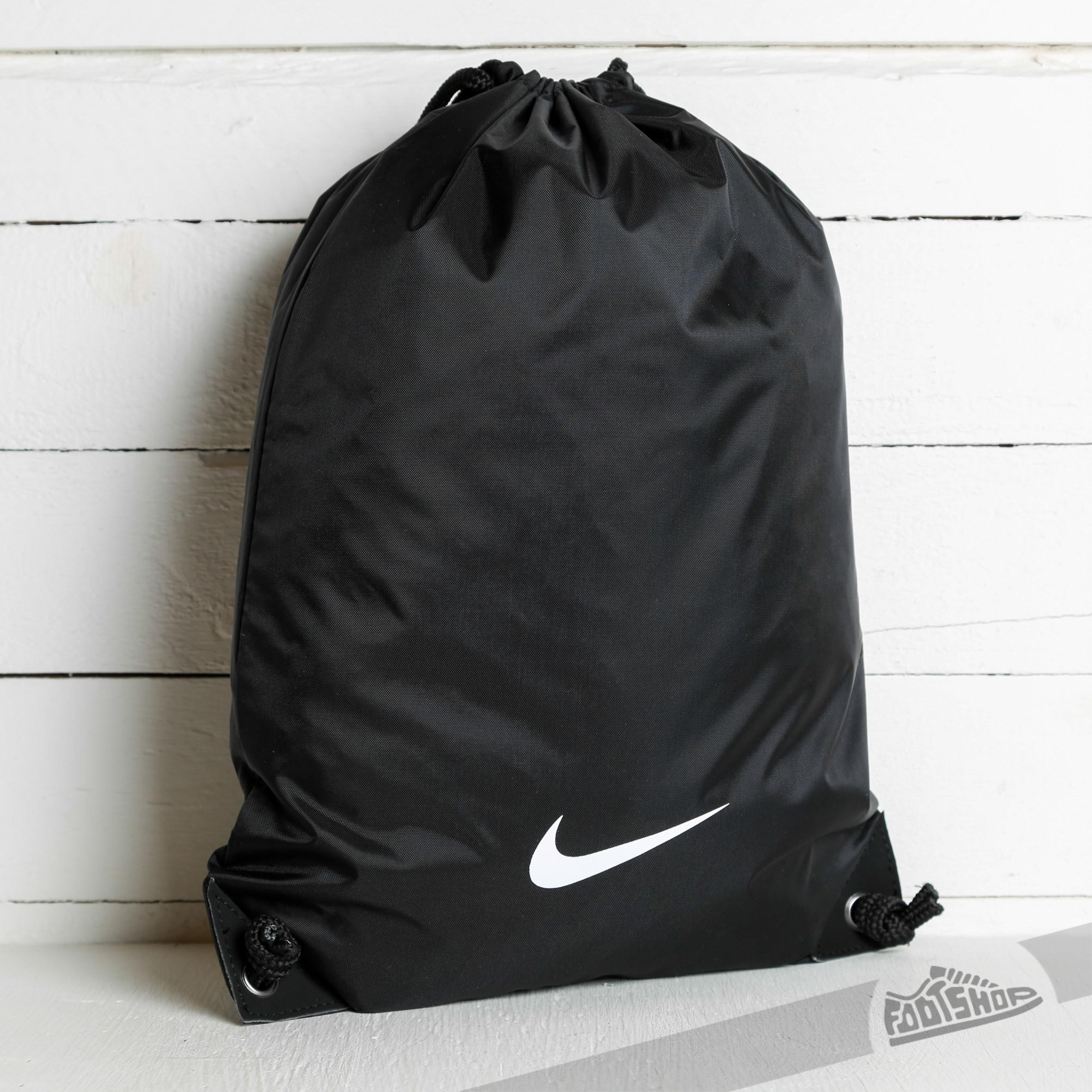 d75a22eeea Nike Fundamental Swoosh Gymsack Black