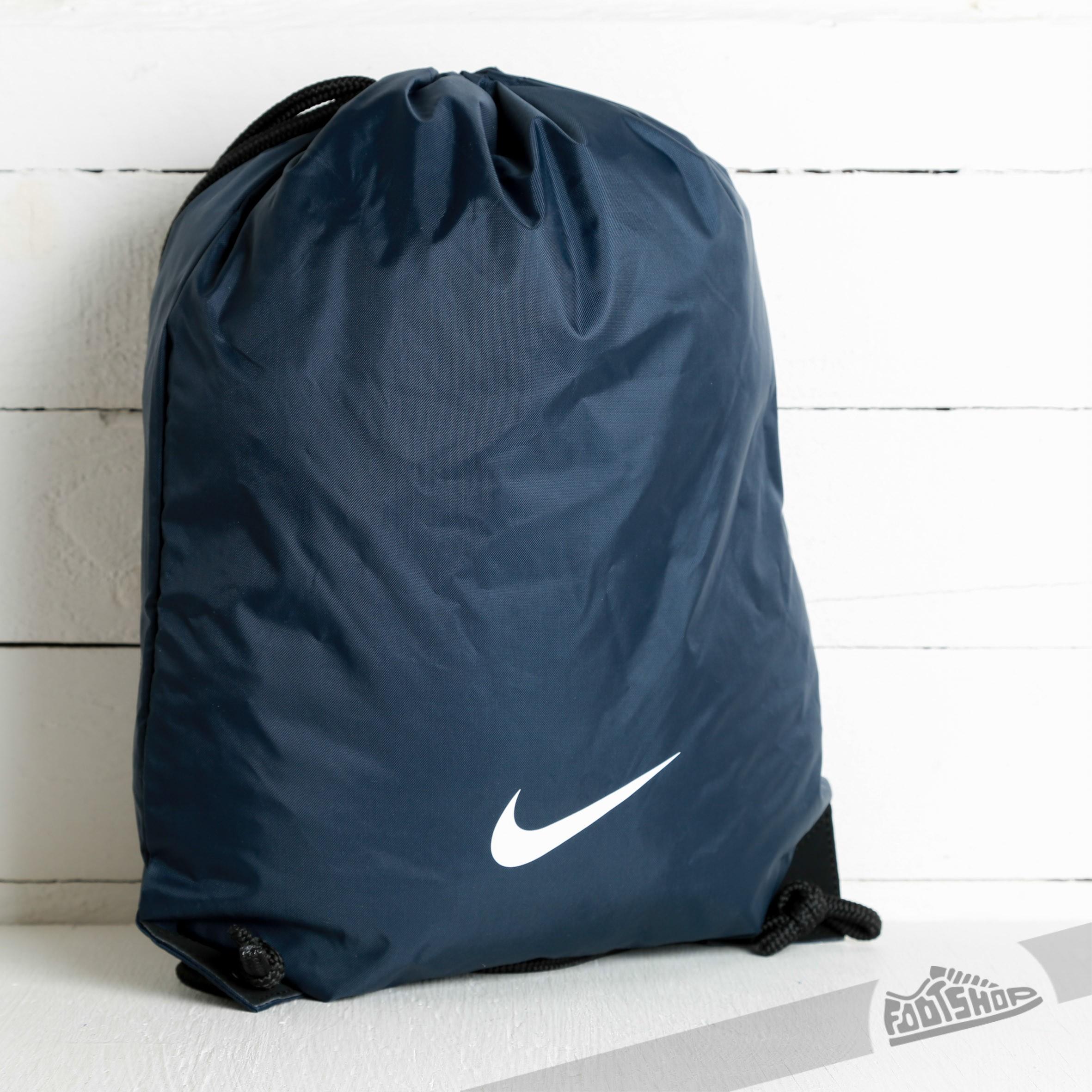 0ed98eea1d Nike Fundamental Swoosh Gymsack Navy