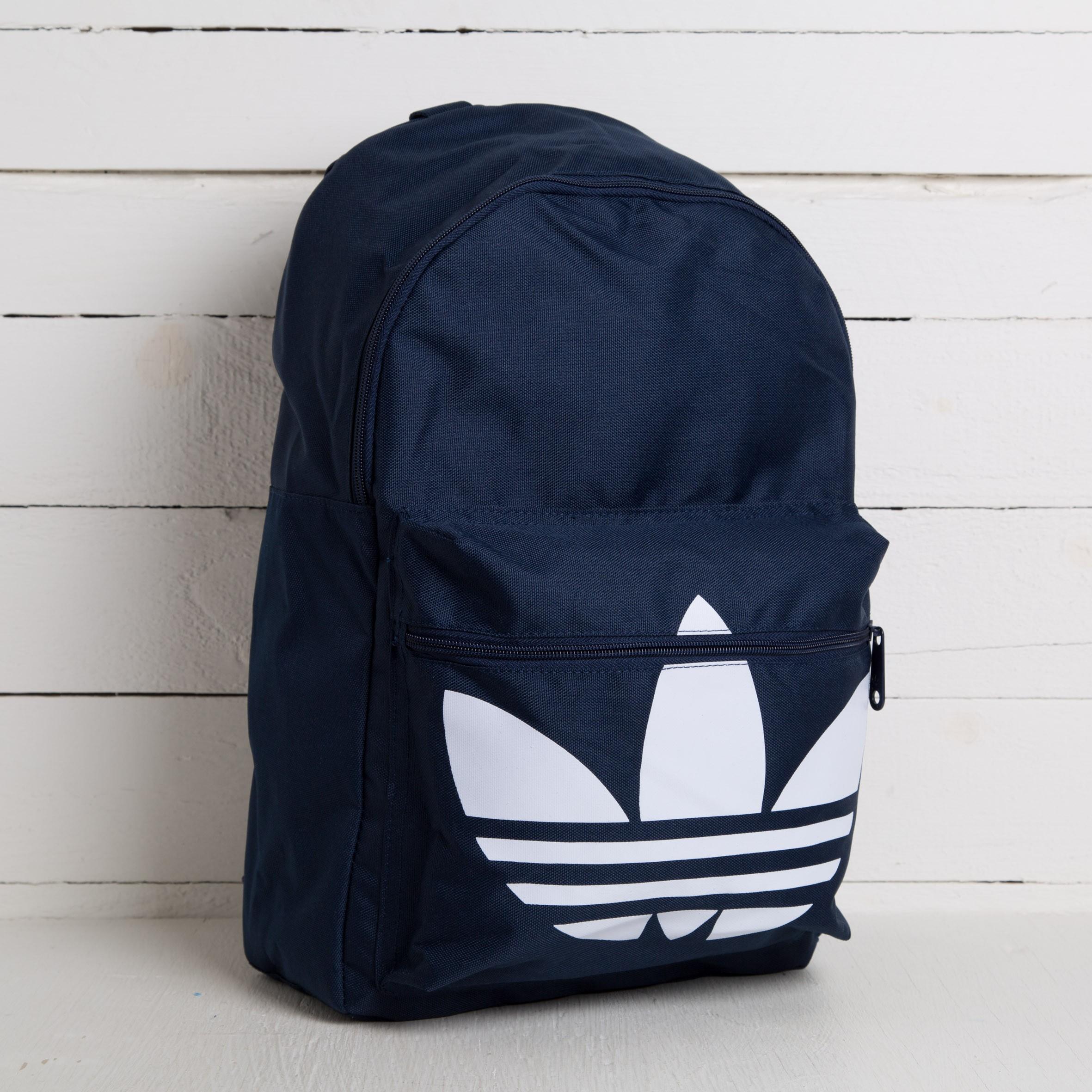adidas Backpack Classic Trefoil Night Indigo  White  bcb7a5f316286